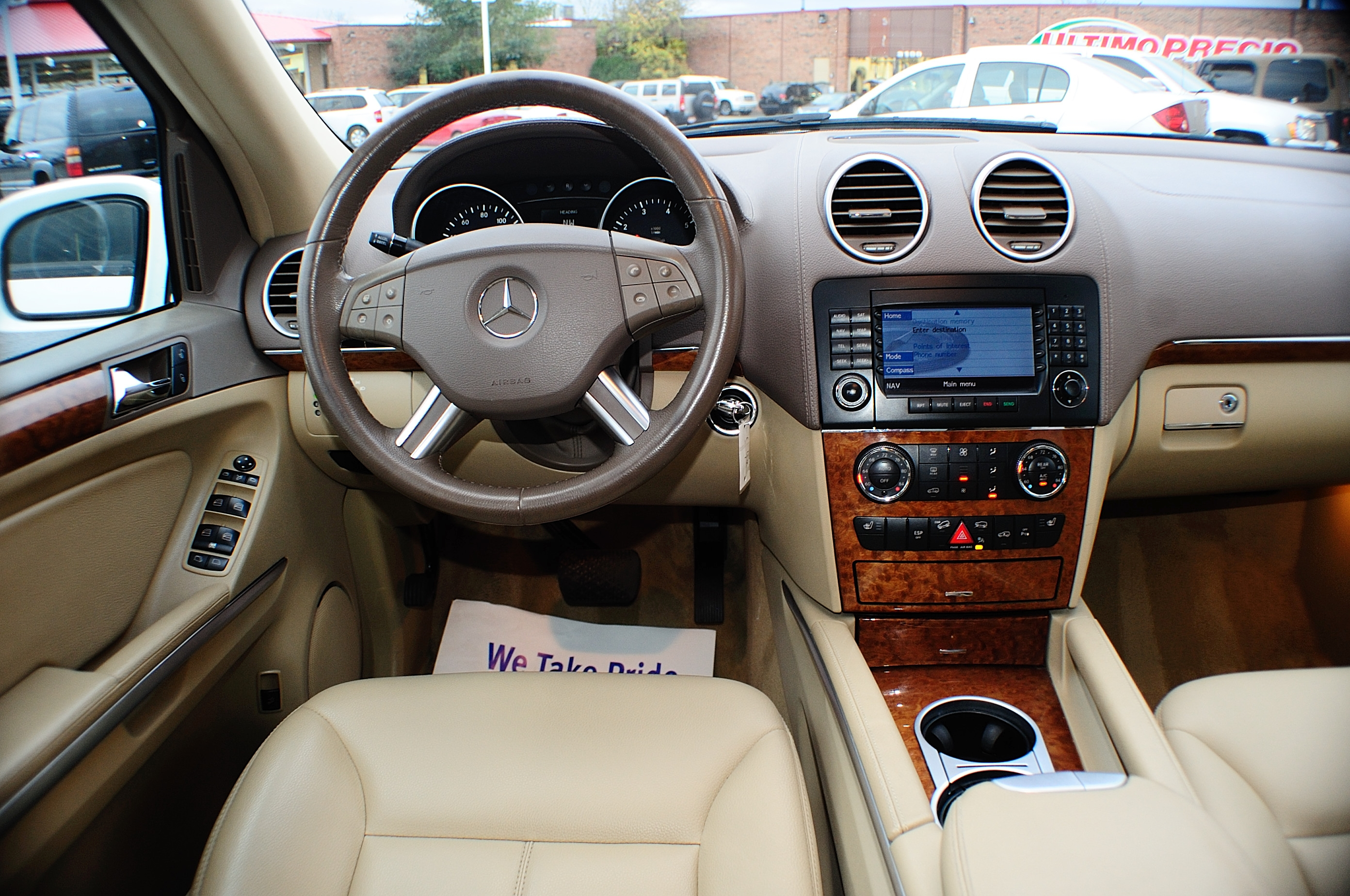 2007 Mercedes Benz GL450 Navigation White AWD Used SUV Sale Volo Green Oaks