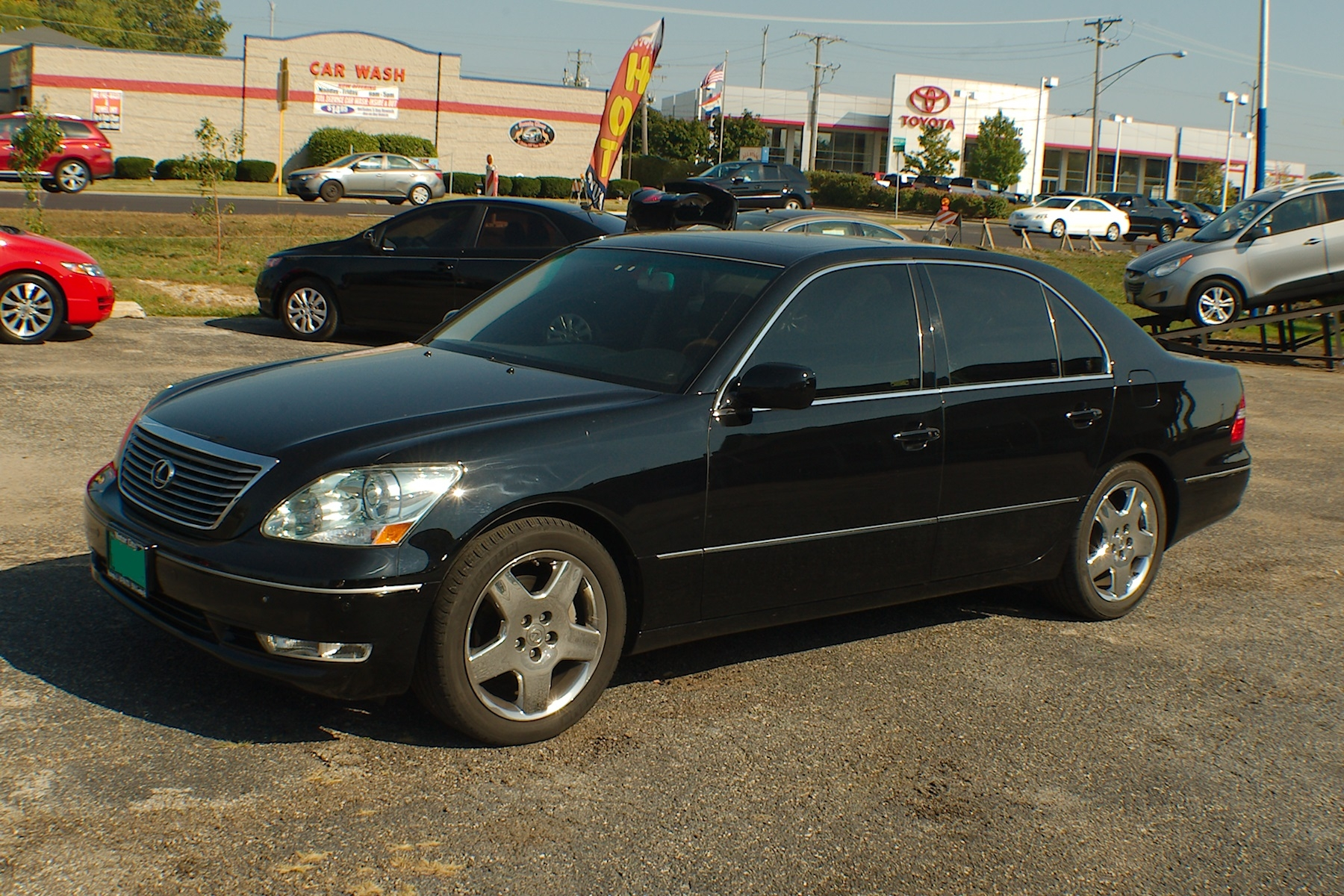 2006 Lexus LS430 Black Sedan Used Car Sale Antioch Zion Waukegan Lake County Illinois