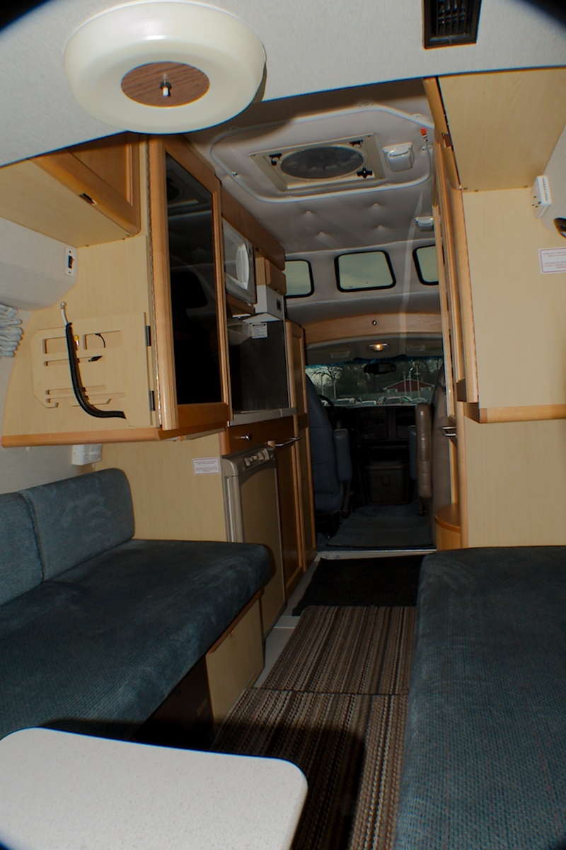 2004 Chevy RoadTrek 190 Popular Class B Used RV Sale Riverwoods Tower Lakes Vernon Hills