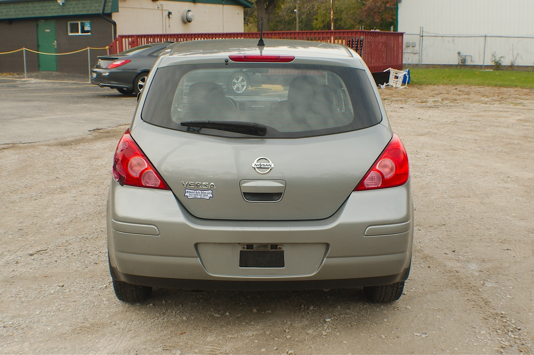 2012 Nissan Versa Gray Sedan Used Car Sale