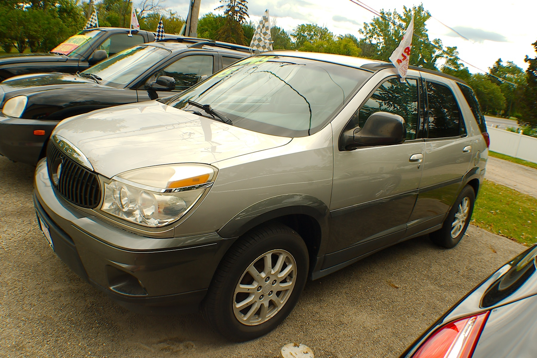 2005 Buick Rendezvous Silver Used SUV Sale Antioch Zion Waukegan Lake County Illinois