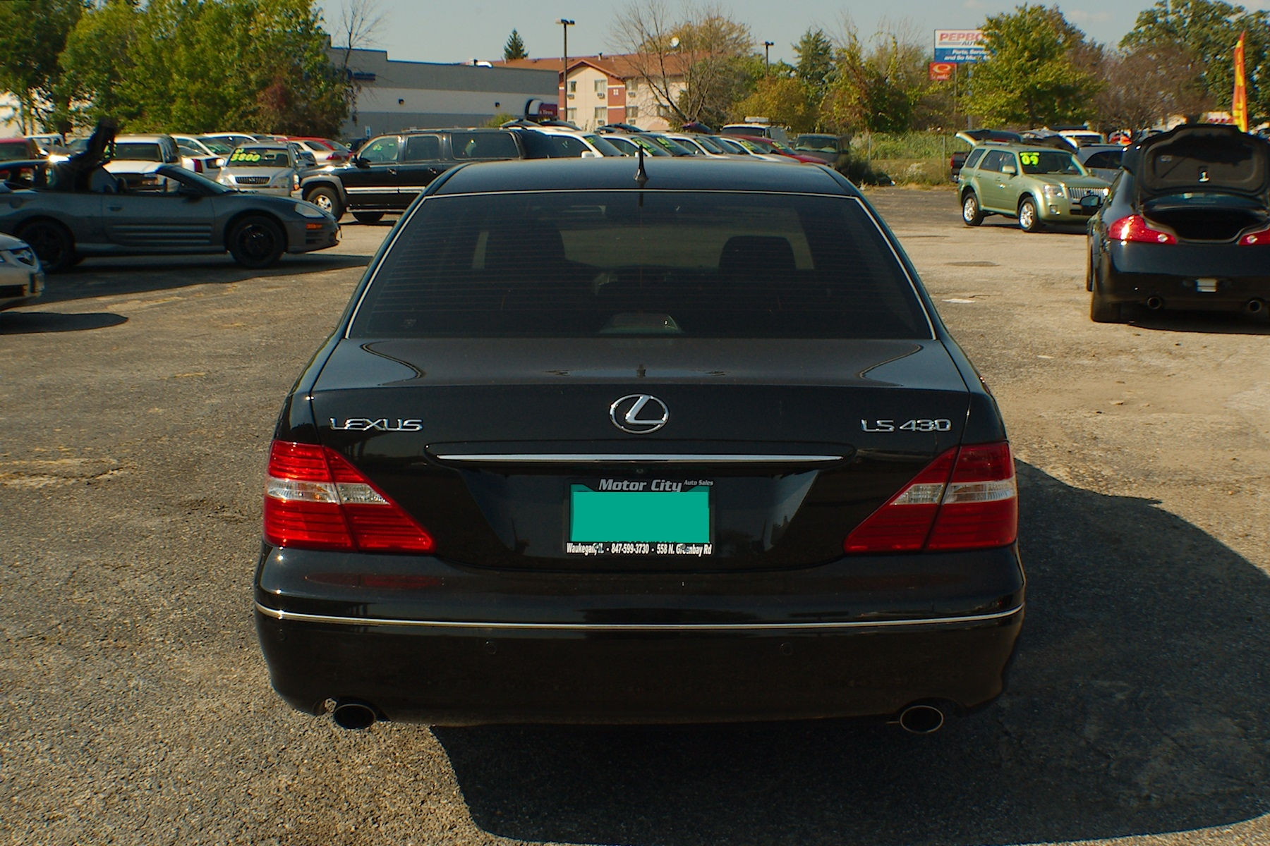 2006 Lexus LS430 Black Sedan Used Car Sale Fox River Grove Grayslake Volo Waucanda