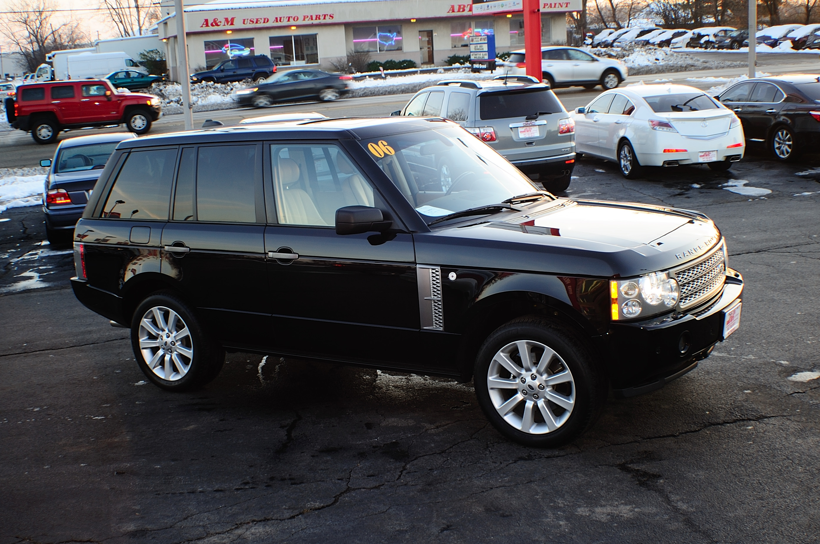 2006 land rover range rover black sport supercharged nav 4x4 bannockburn barrington beach park