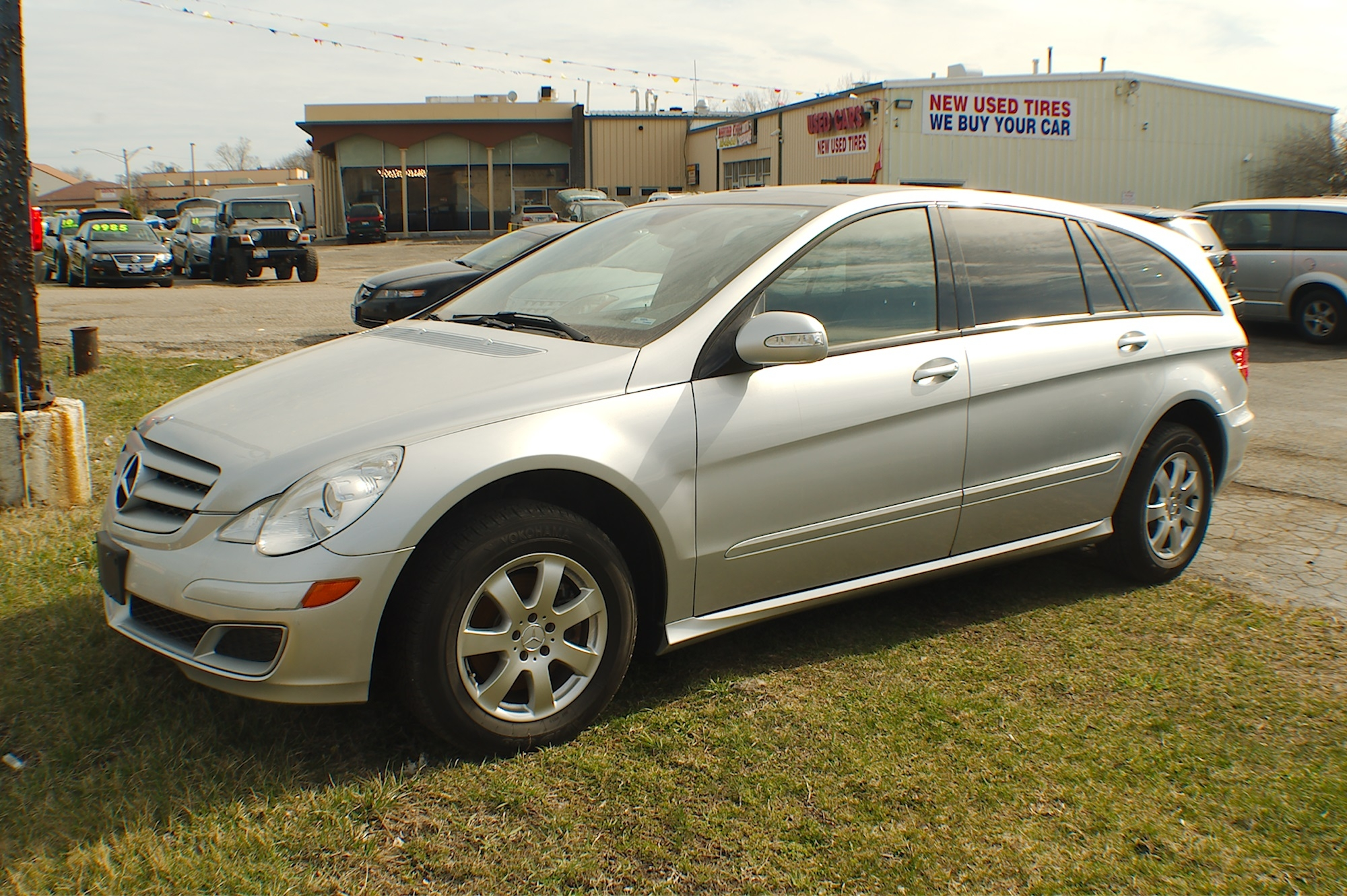 2006 Mercedes R350 4Matic Silver AWD Wagon Sale Antioch Zion Waukegan Lake County Illinois