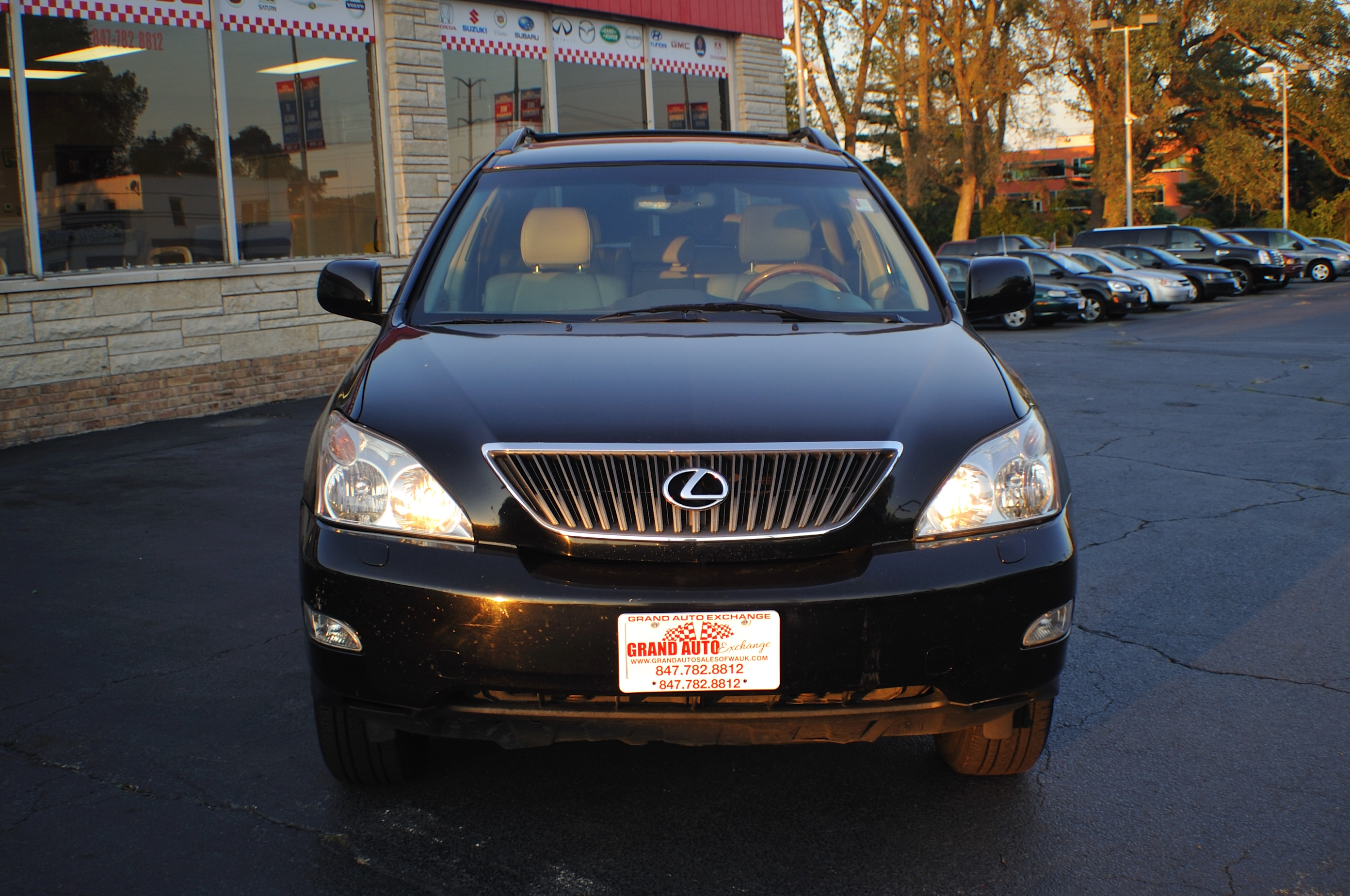 2004 Lexus RX330 Black SUV Car sale Kenosha Mchenry Bannockburn Barrington