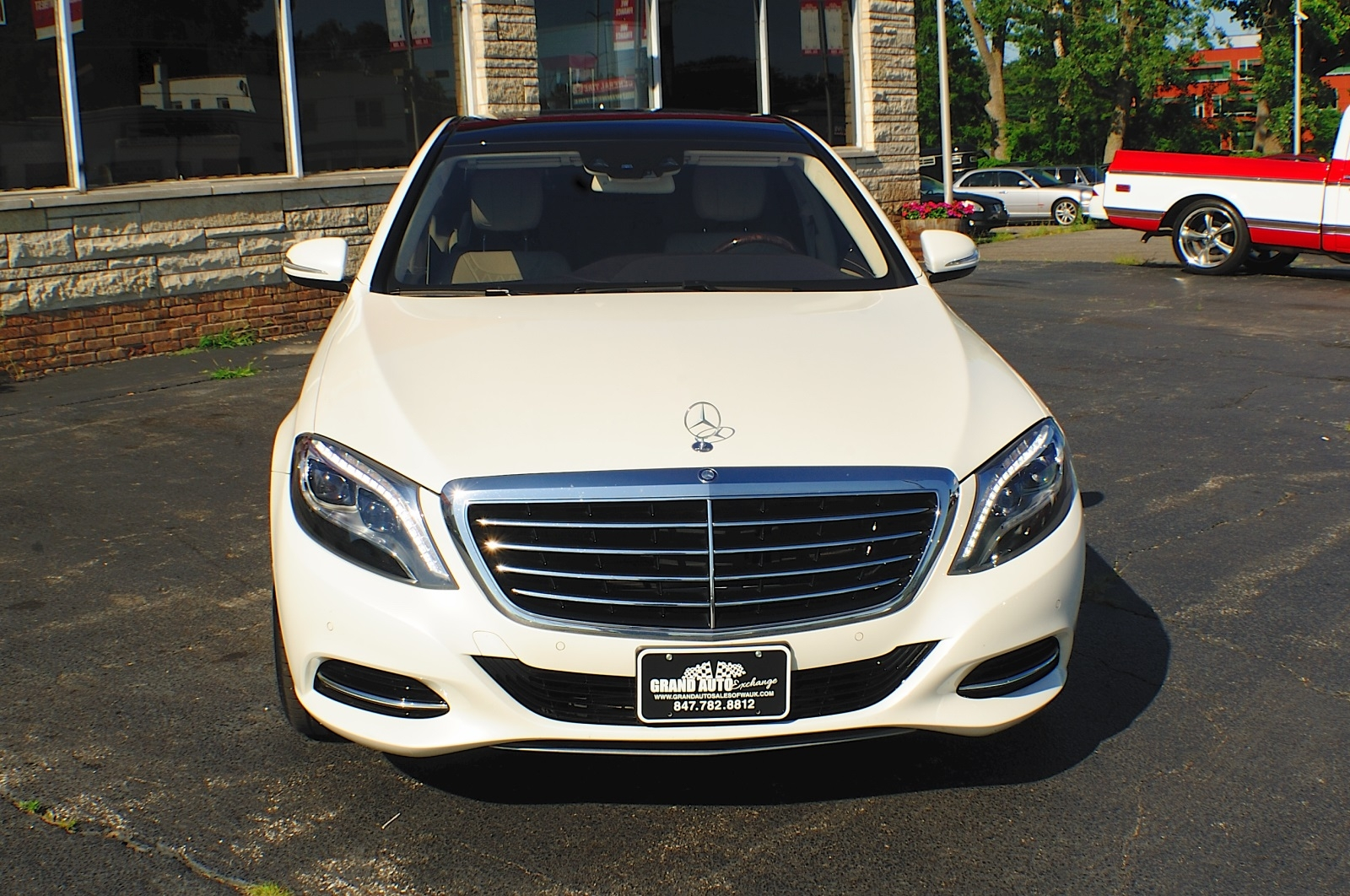 Mercedes benz 2014 s550 white images for 2014 mercedes benz s550 4matic
