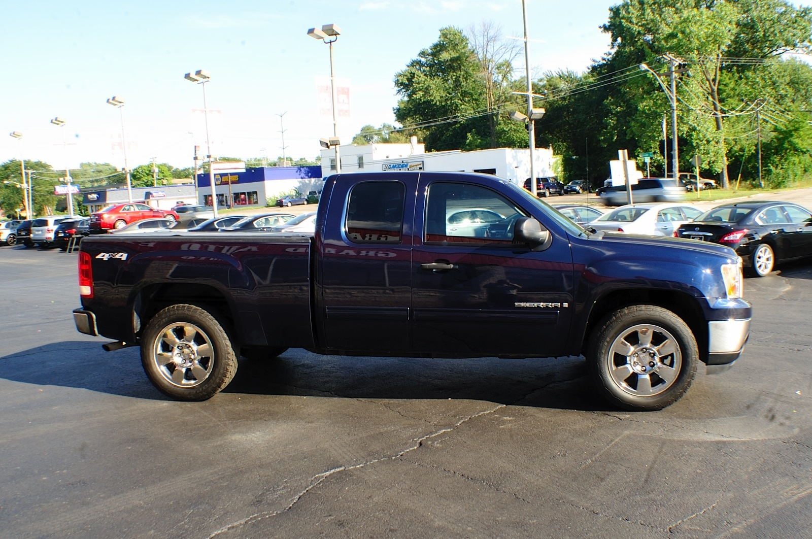 2009 GMC Sierra SLE Blue Used 4x4 Truck Sale Bannockburn Barrington Beach Park