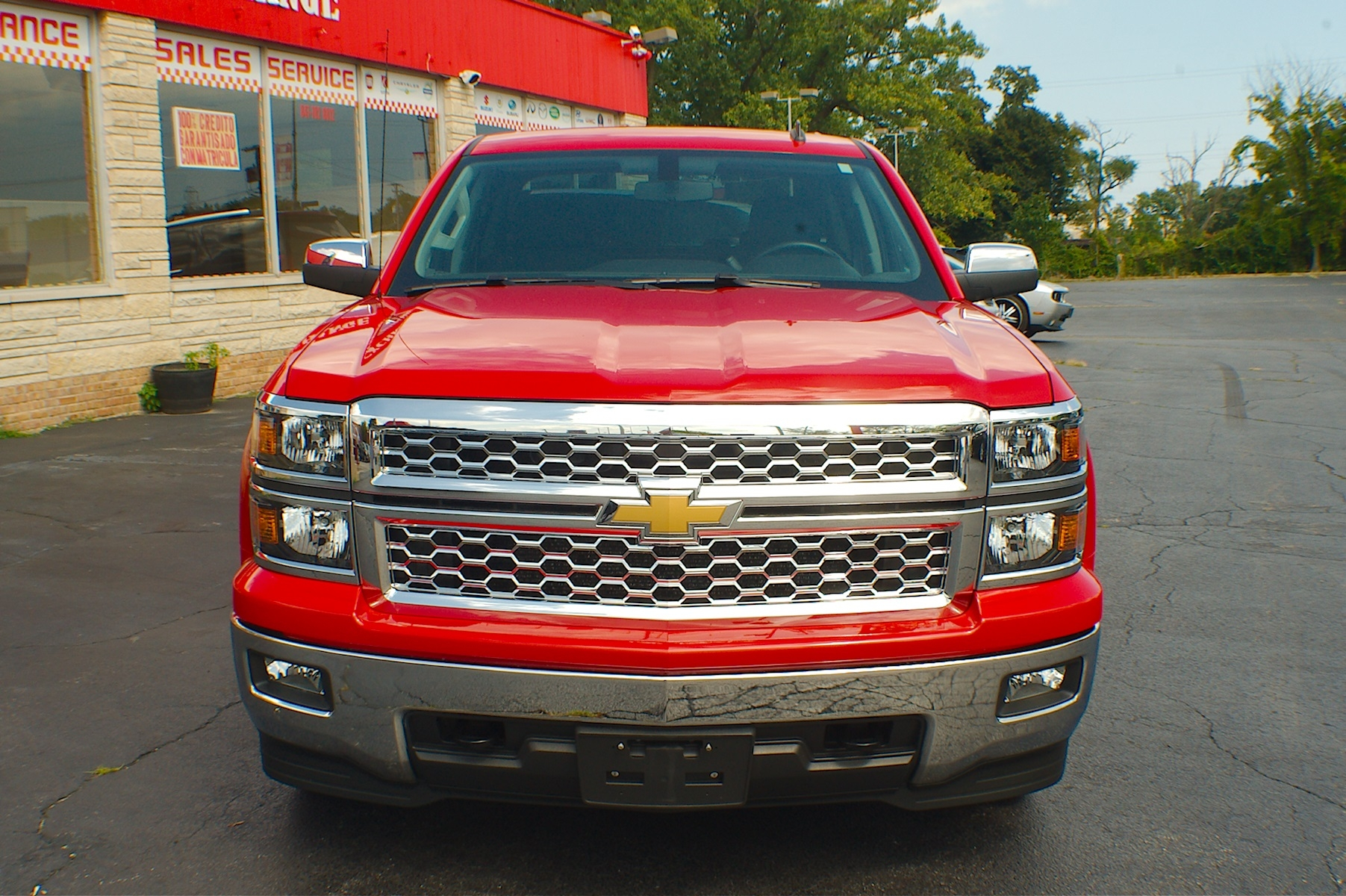2014 Chevrolet Silverado LT Red Used Pickup Truck Sale Gurnee Kenosha Mchenry Chicago Illinois