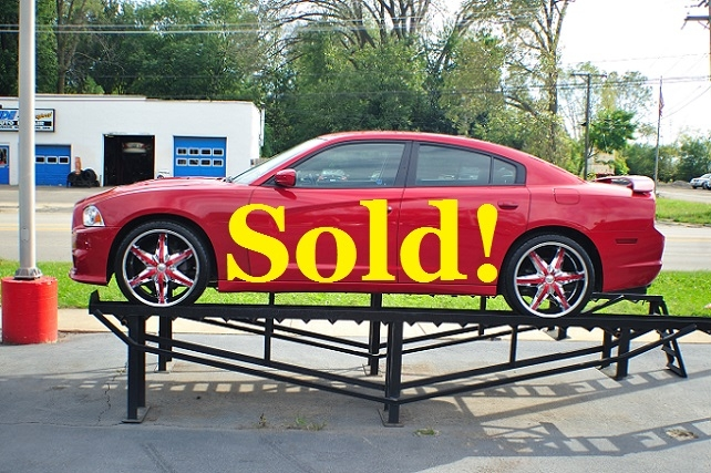2012 Dodge Charger Red SRT8 Sport Sedan Used Car Sale Antioch Zion Waukegan