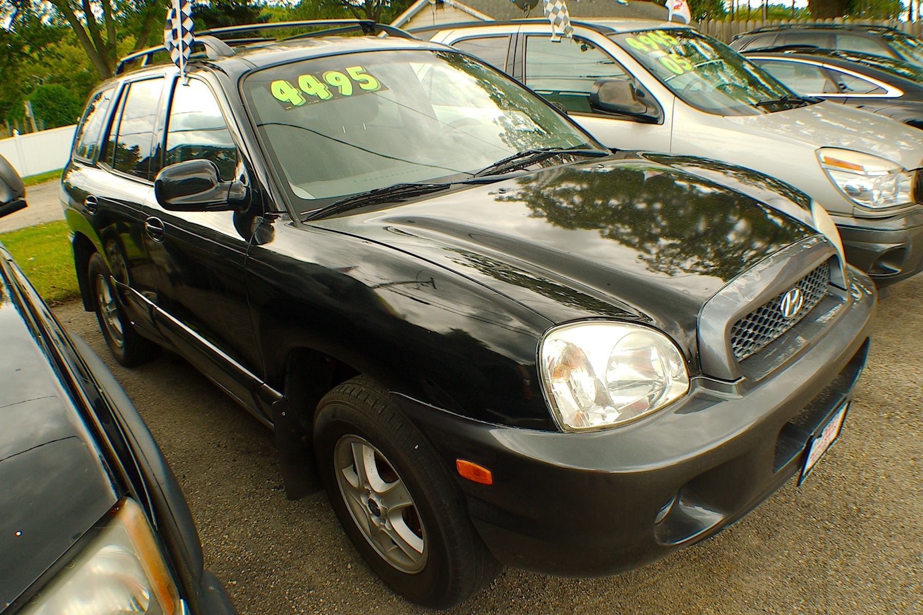 2003 Hyundai Santa Fe Black SUV Sale Bannockburn Barrington Beach Park