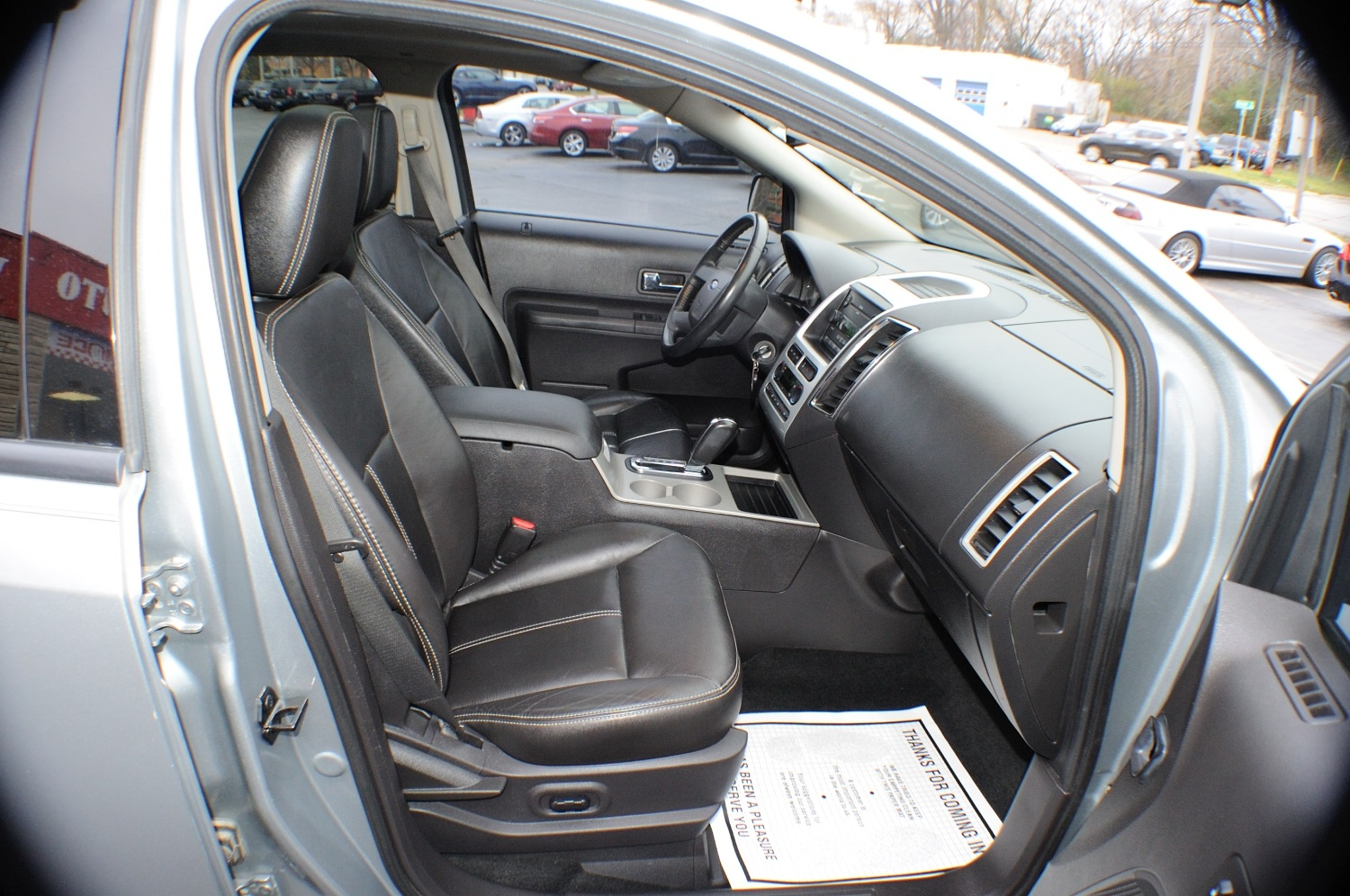 2007 Ford Edge SEL Silver Used SUV Sale Libertyville Lincolnshire Lindenhurst