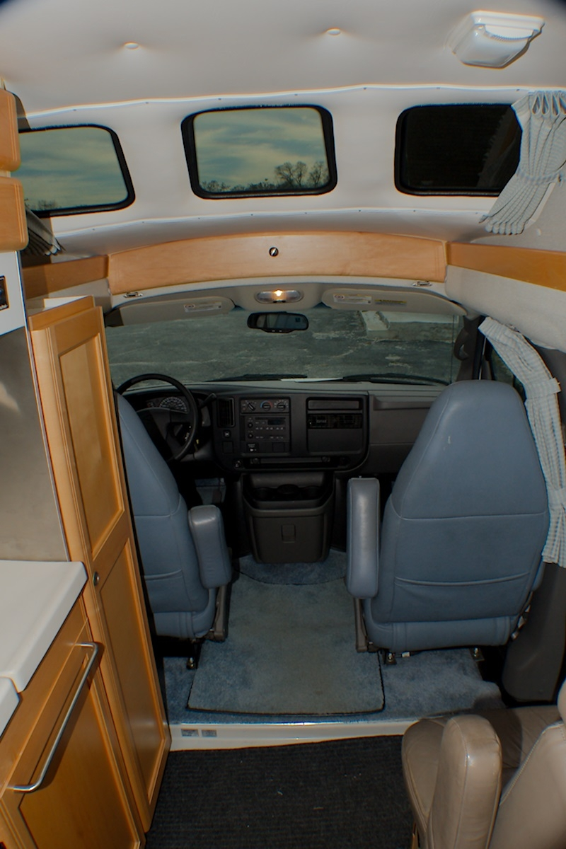 2004 Chevy RoadTrek 190 Popular Class B Used RV Sale Dealer