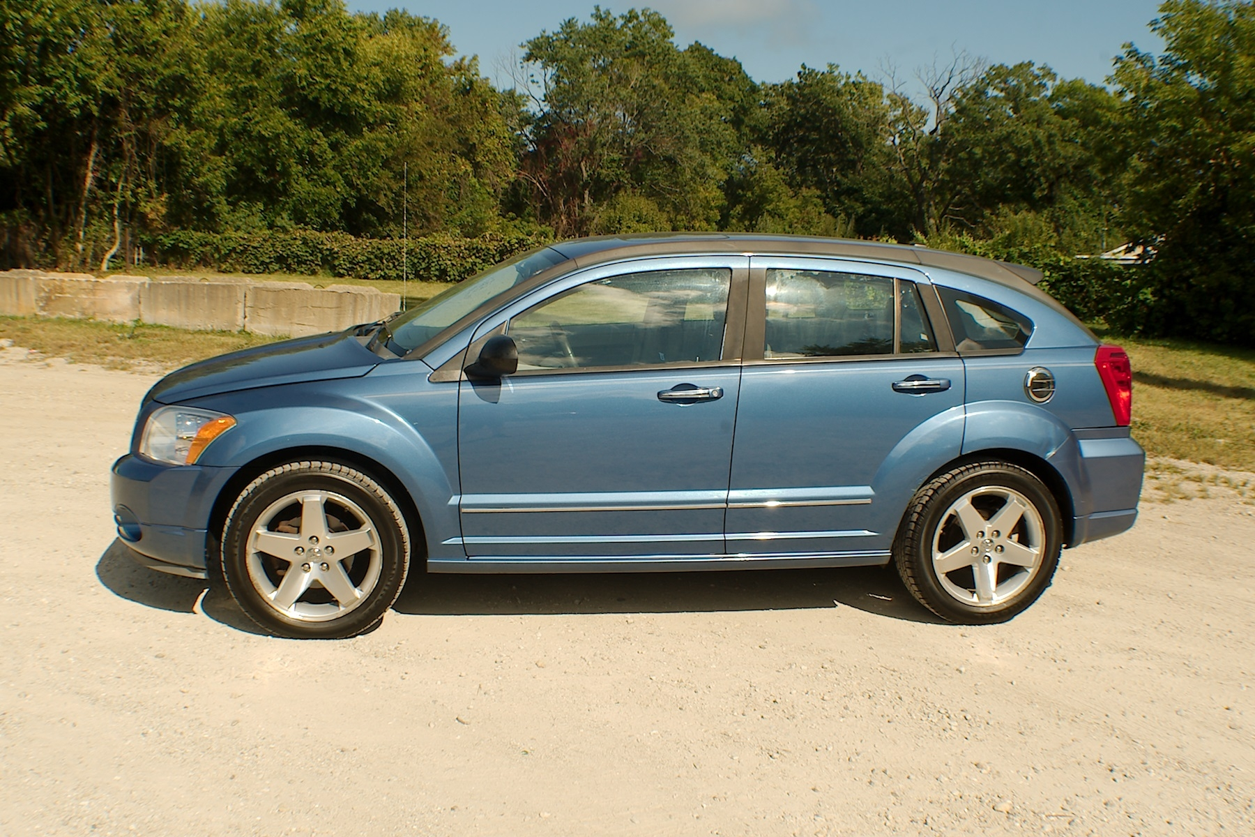 2008 Dodge Caliber RT Blue AWD Wagon Used Car Sale Antioch Zion Waukegan Lake County Illinois