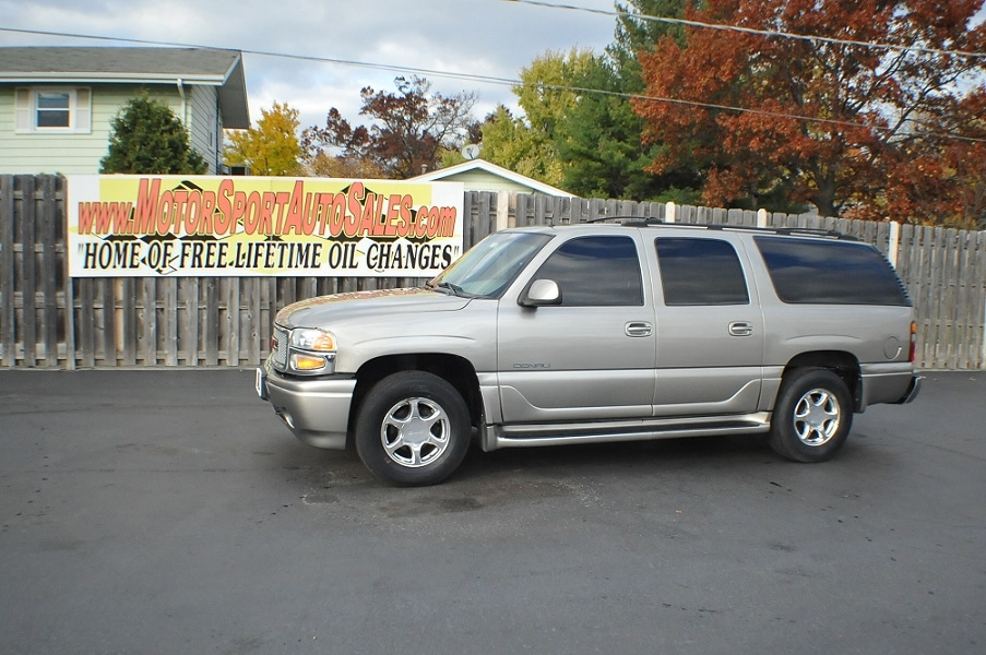 2002 GMC Yukon XL Denali 4x4 Used SUV Car Sale Antioch Zion Waukegan
