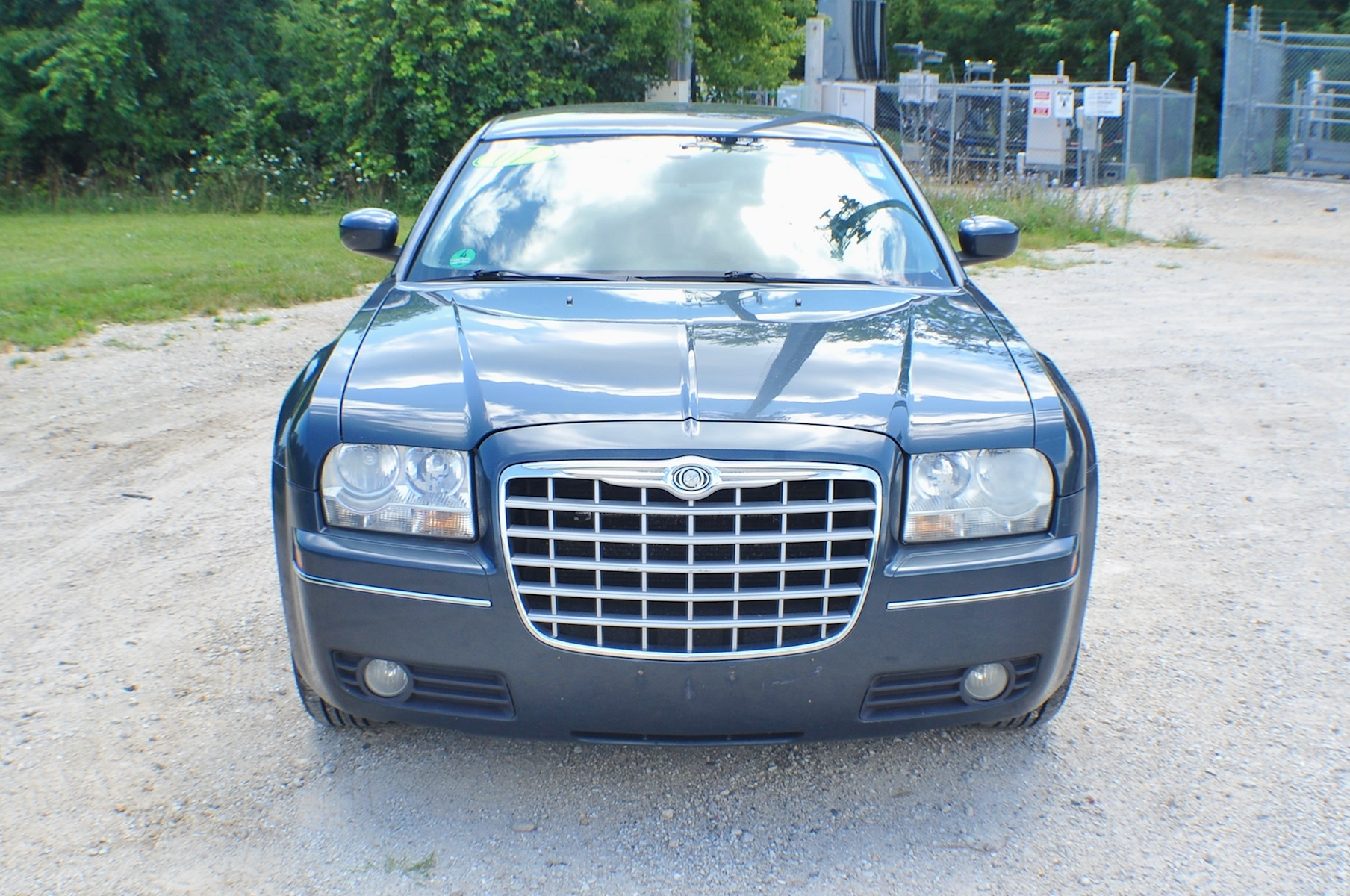 2007 Chrysler 300 Blue Touring Sedan Sale Gurnee Kenosha Mchenry Chicago Illinois