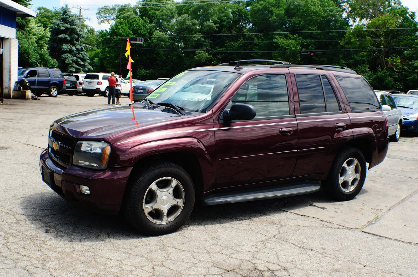 2006 Chevrolet Trailblazer LT Burgundy Used SUV Sale Addison Algonquin Arlington Heights Bartlett