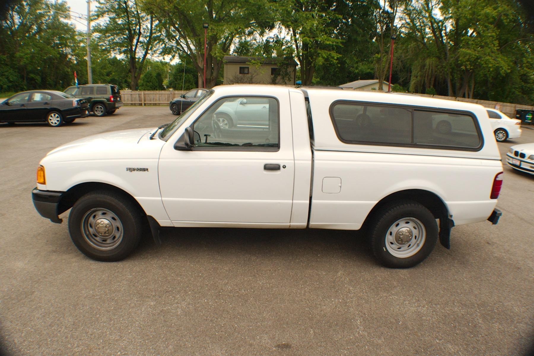 2001 Ford Ranger White Used 4x2 Reg Cab Used Truck Sale Antioch Zion Waukegan Lake County Illinois