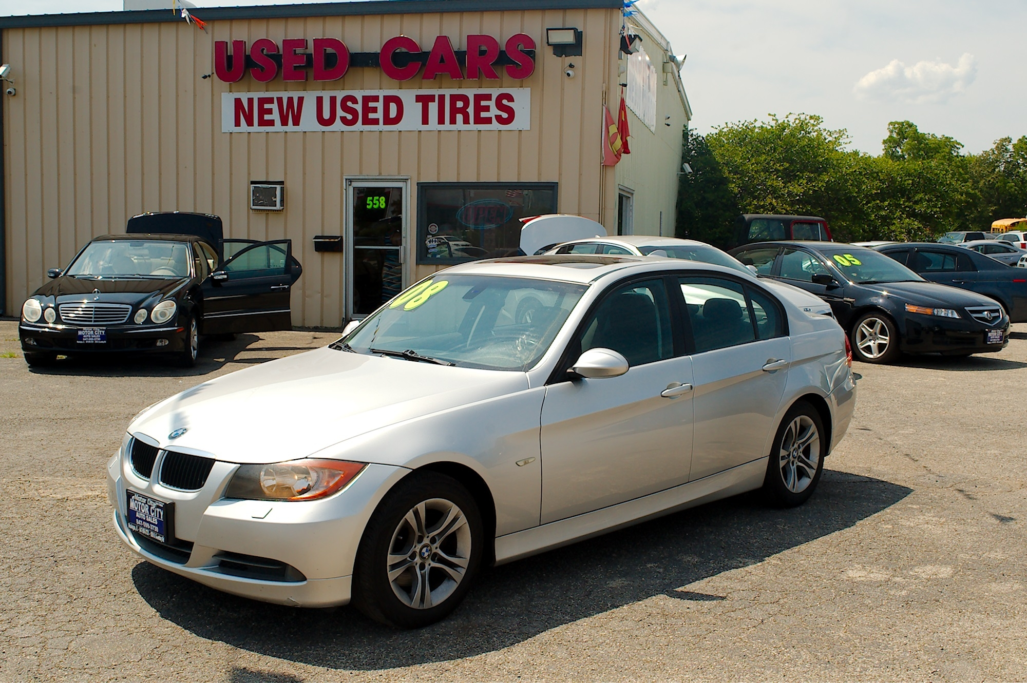 2008 BMW 328xi Gray Sedan Used Car Sale Antioch Zion Waukegan Lake County Illinois