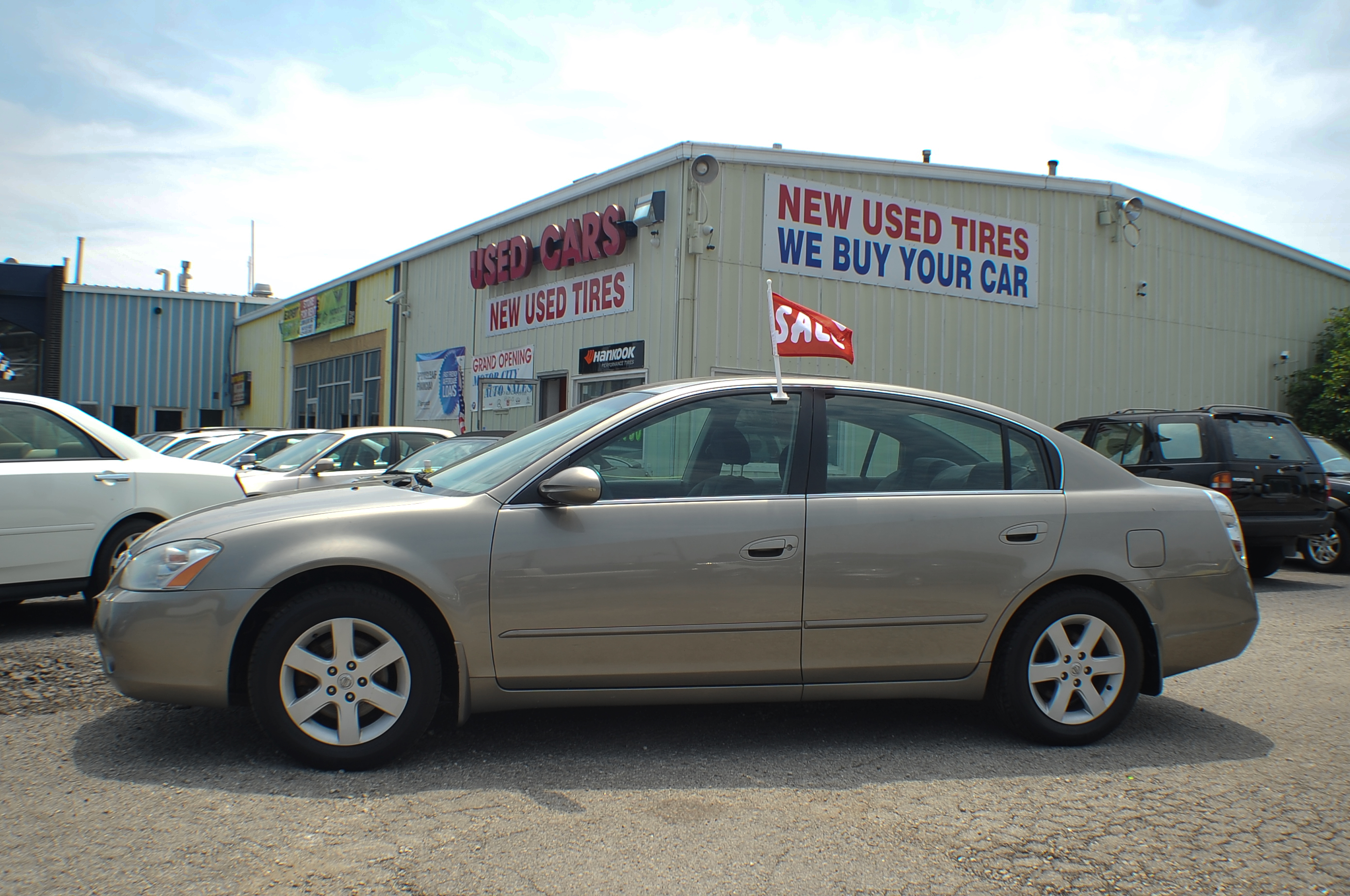 2004 Nissan Altima 2.5S Sand Sedan Used Car Sale Antioch Grayslake