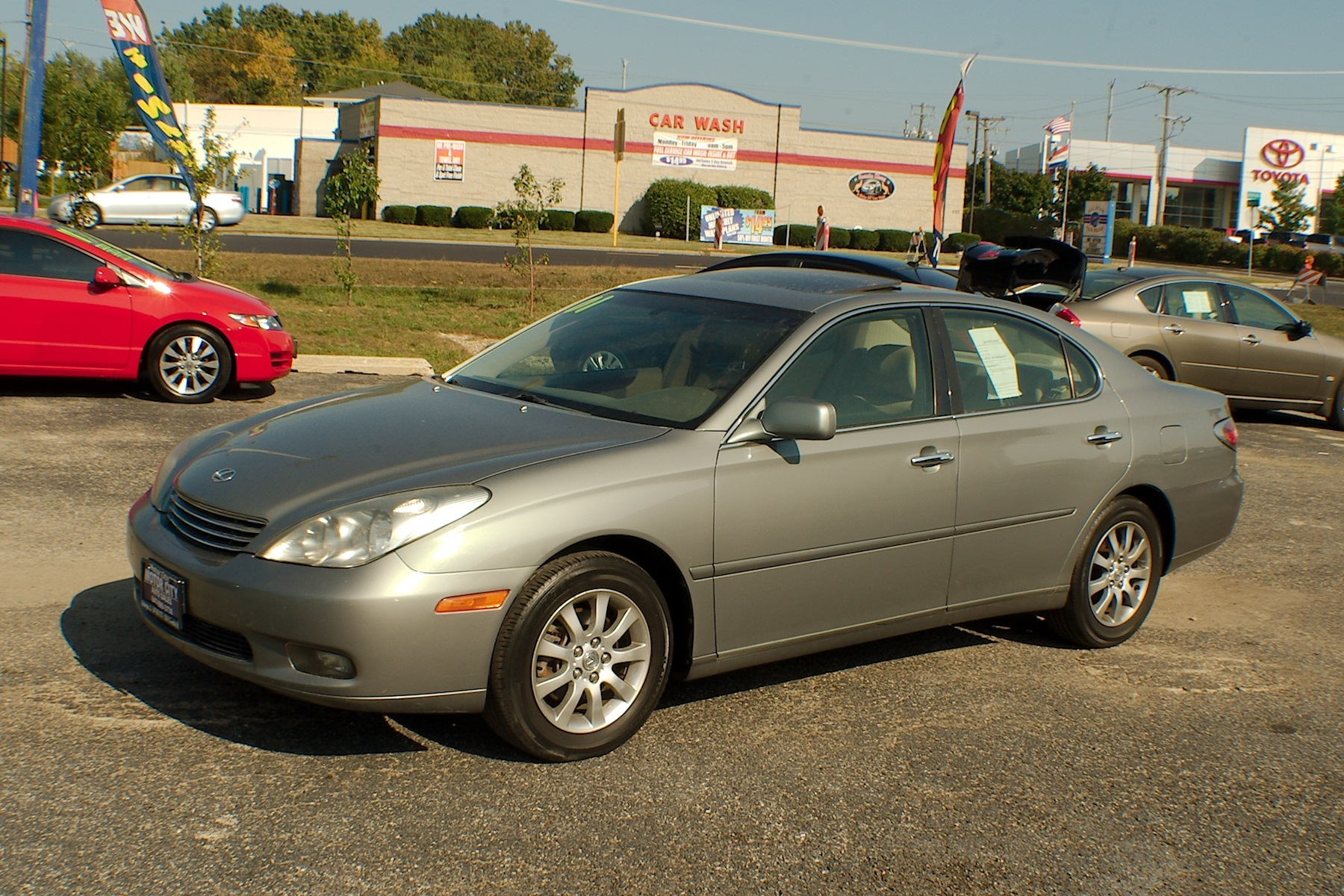 2002 lexus es300 green sedan used car sale. Black Bedroom Furniture Sets. Home Design Ideas