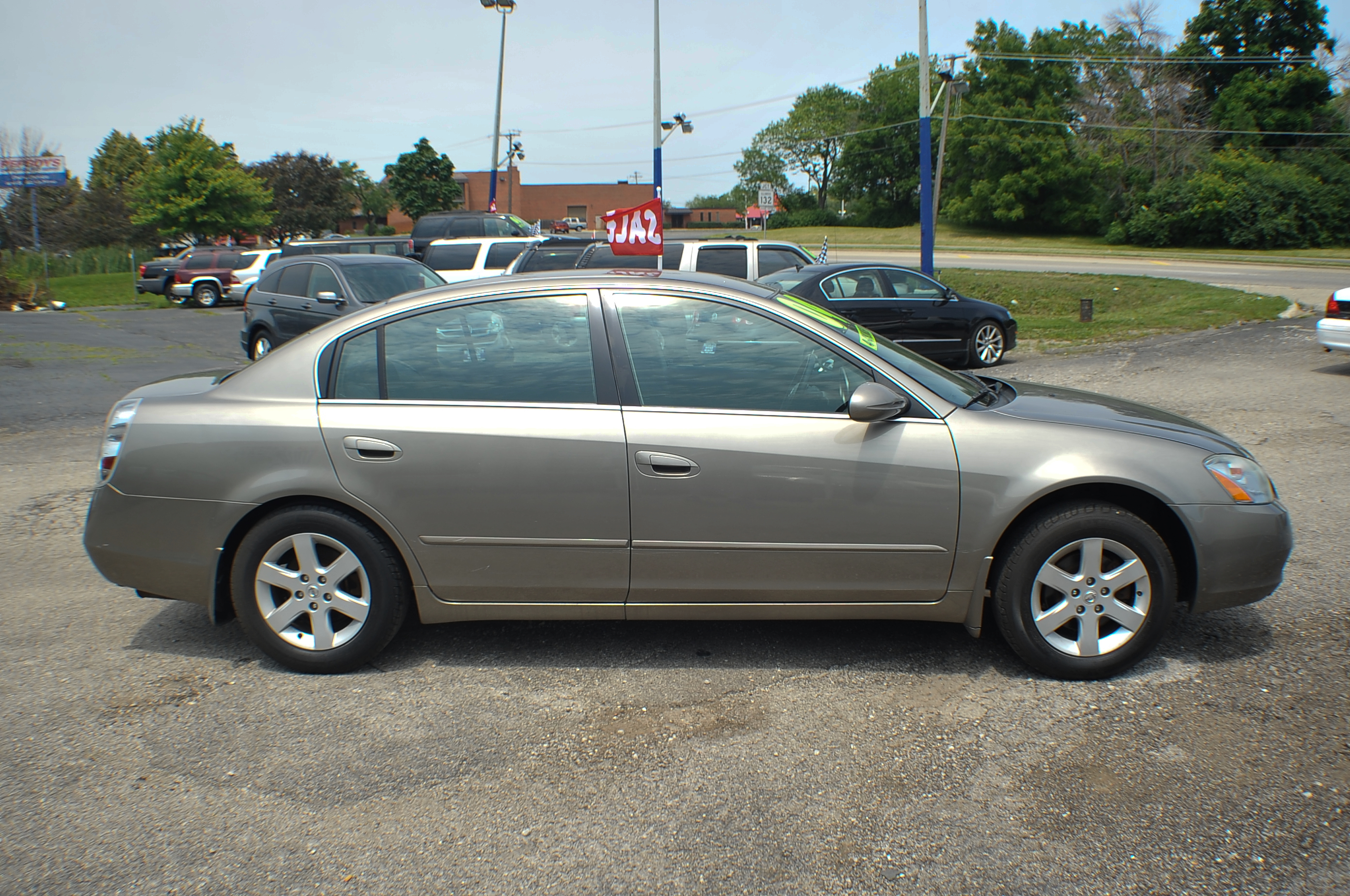 2004 Nissan Altima 2.5S Sand Sedan Used Car Sale Lindenhurst Gurnee