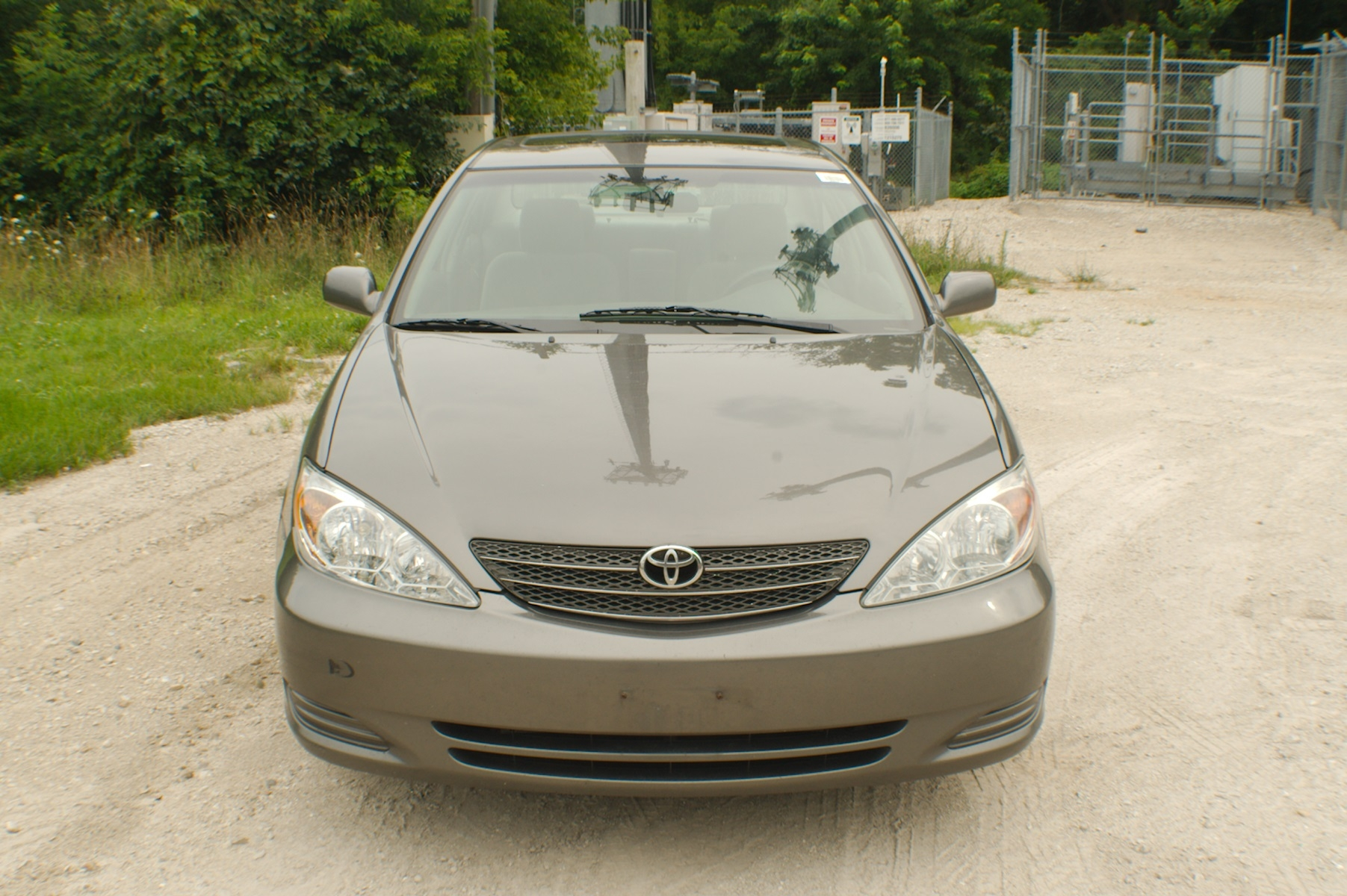2004 Toyota Camry Sand Sedan Used Car Sale Gurnee Kenosha Mchenry Chicago Illinois