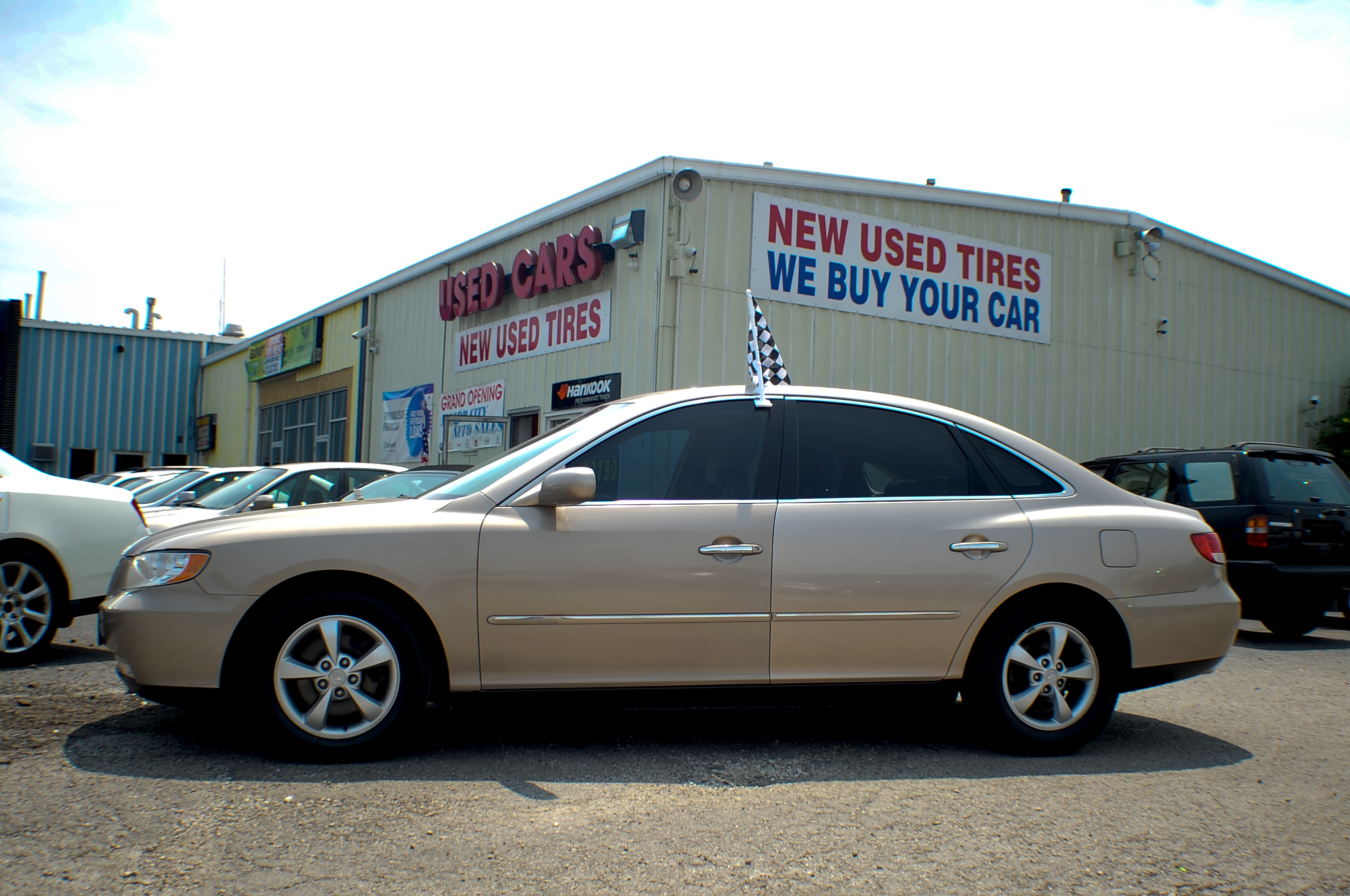 2006 Hyundai Azera Sand V6 Sedan Used Car Sale Antioch Grayslake