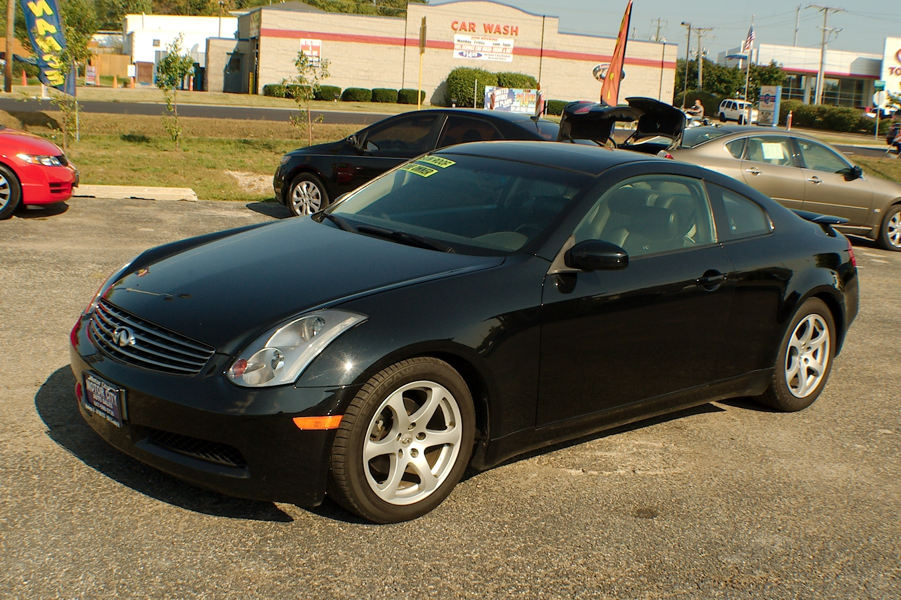 2003 Infiniti G35 Black Sport Coupe used car Sale Antioch Zion Waukegan Lake County Illinois