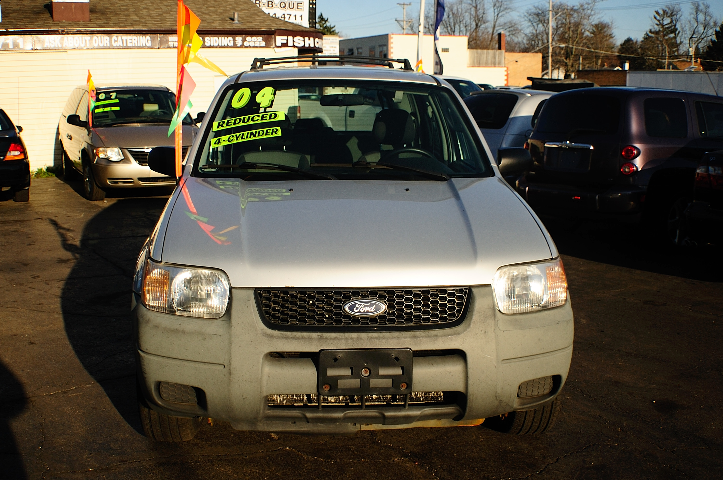 2004 Ford Escape 4Dr Silver 4x2 Manual SUV sale Gurnee Kenosha Mchenry