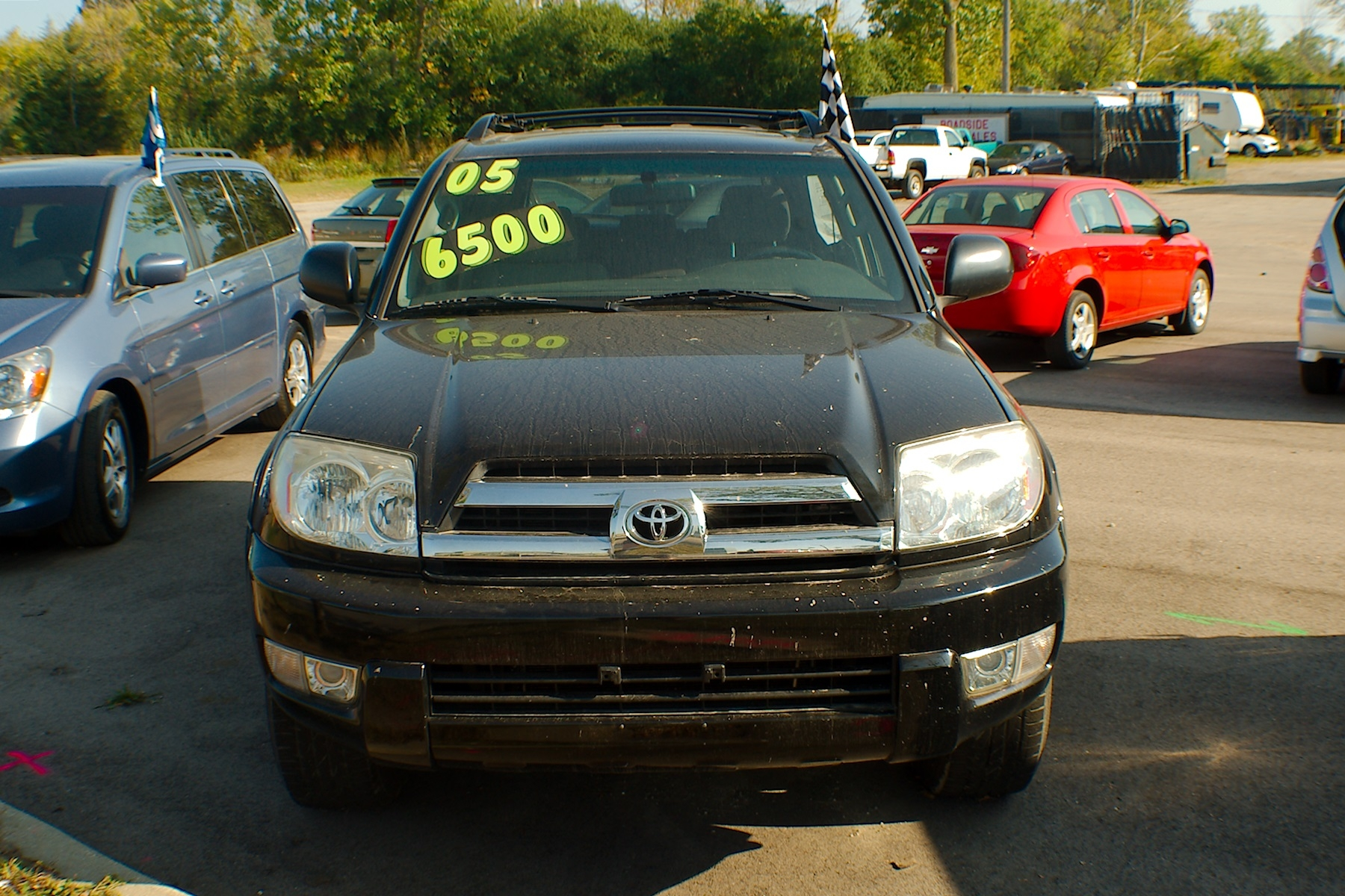 2005 Toyota 4Runner Black SUV 4x4 Used Car Sale Gurnee Kenosha Mchenry Chicago Illinois
