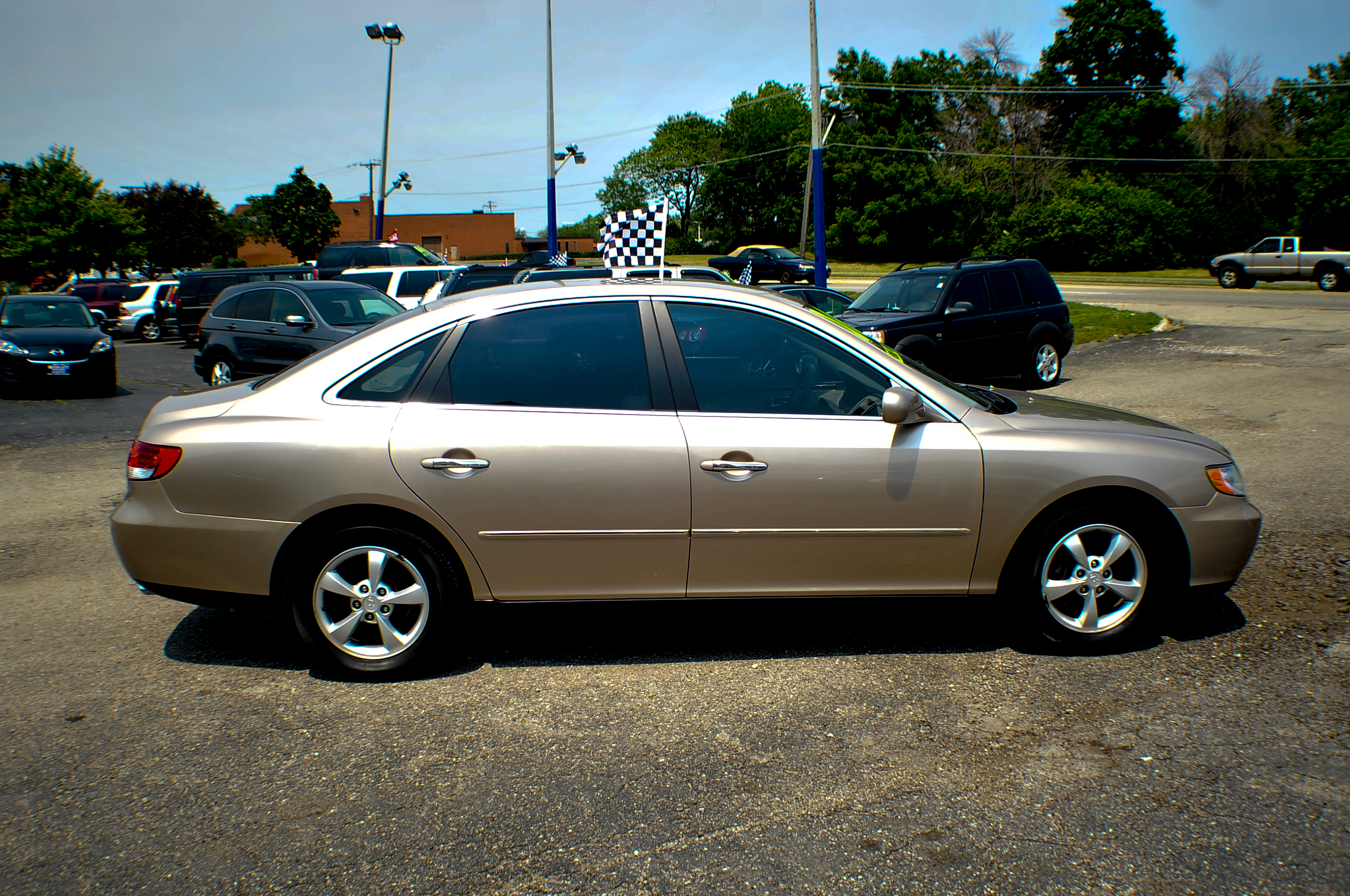 2006 Hyundai Azera Sand V6 Sedan Used Car Sale Lindenhurst Gurnee