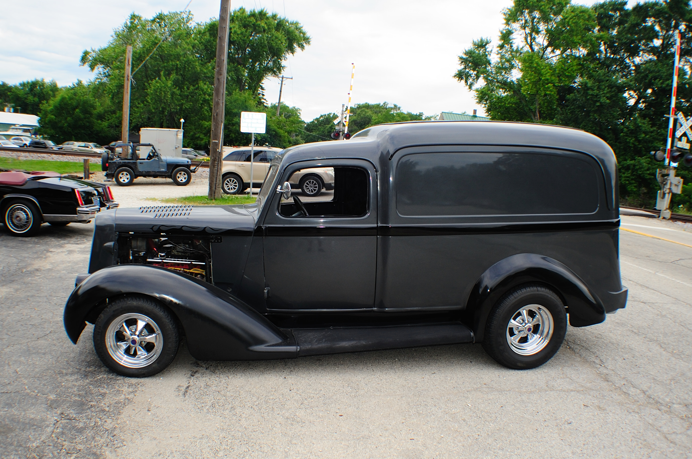 1937 Dodge Humpback Delivery Classic Hot Street Rod Car Sale Libertyville
