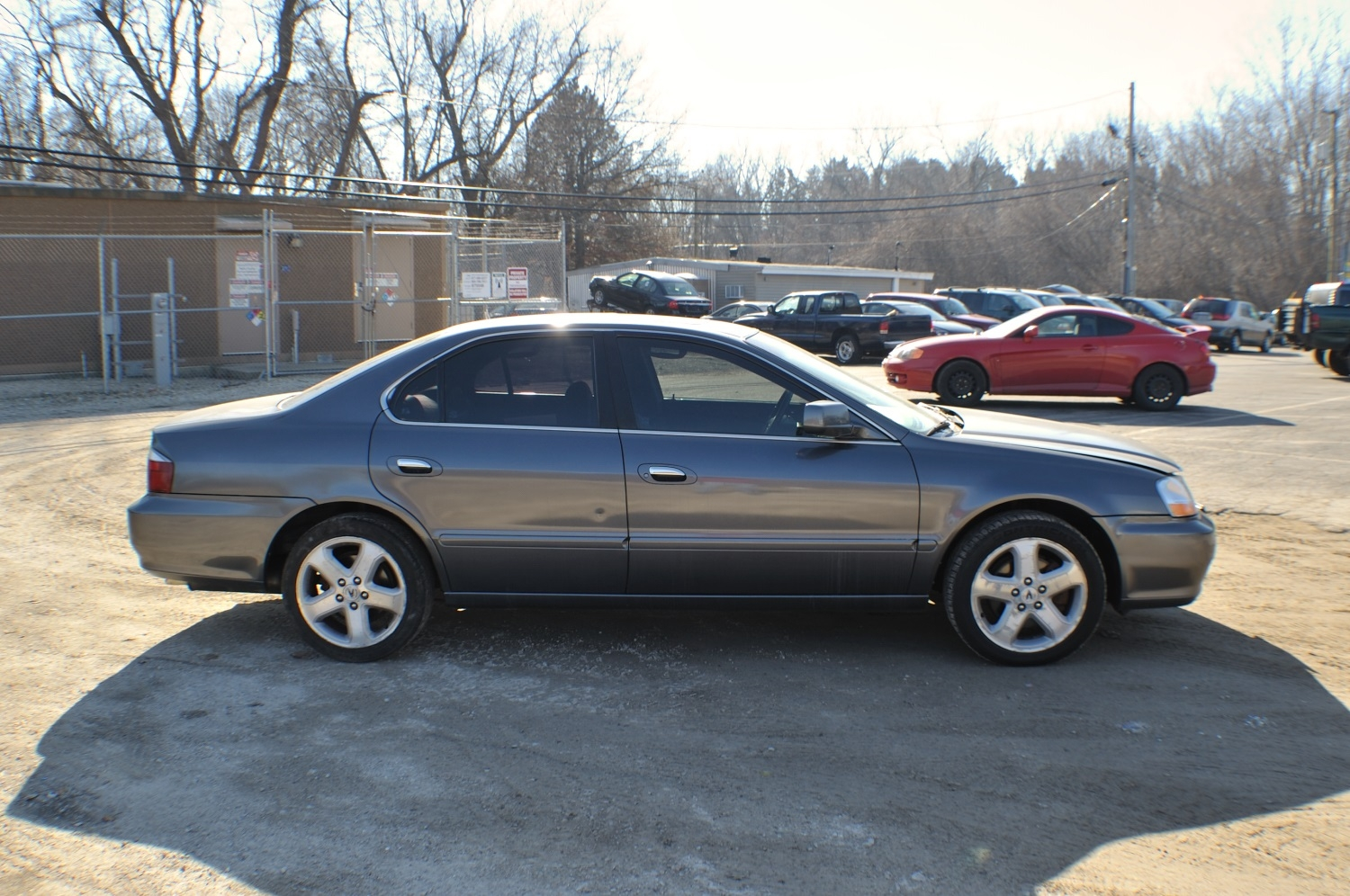 2003 Acura TL Silver Used Sedan Sale Bannockburn Barrington Beach Park