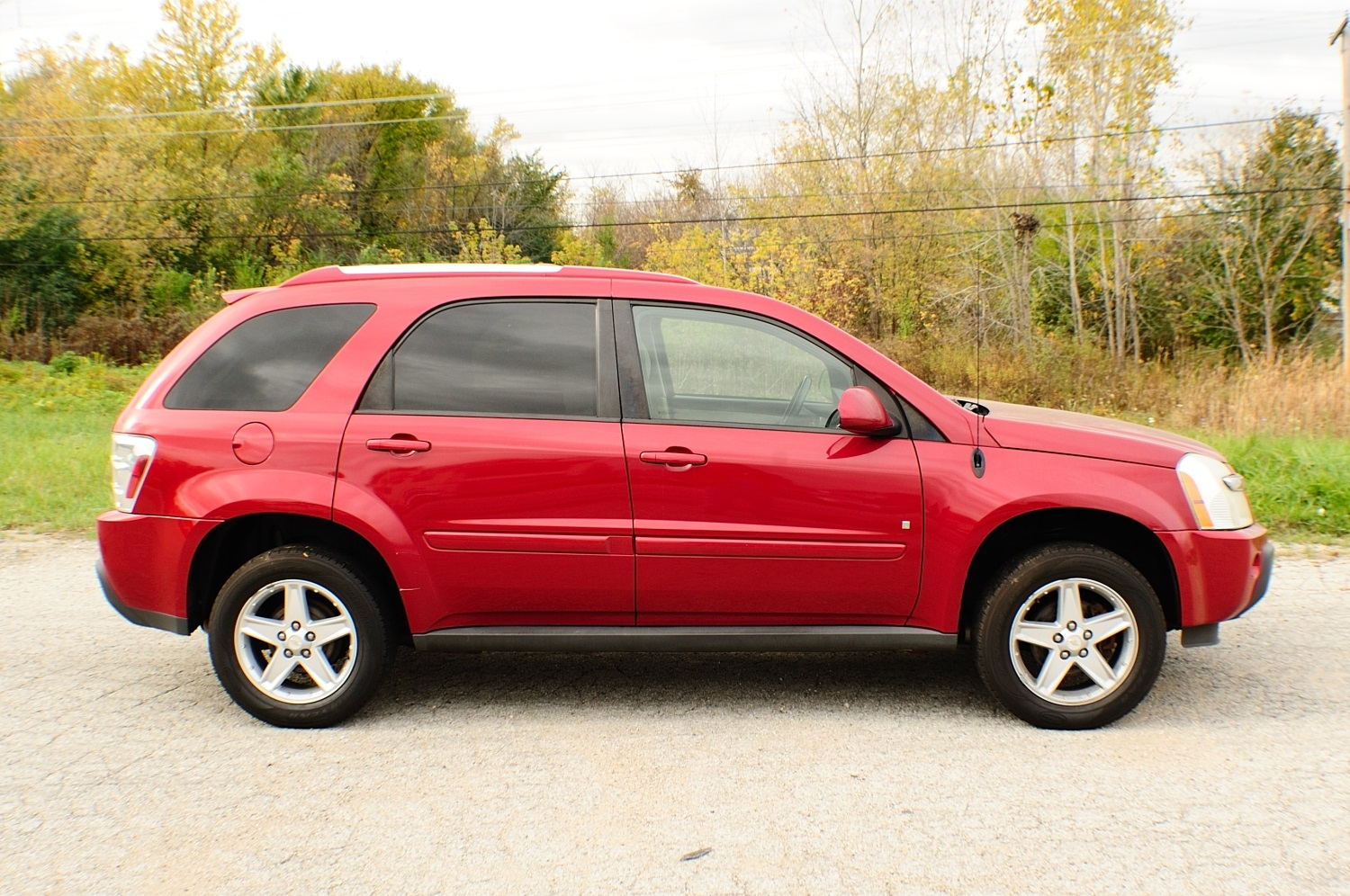 2006 chevrolet equinox lt red suv used car sale. Black Bedroom Furniture Sets. Home Design Ideas