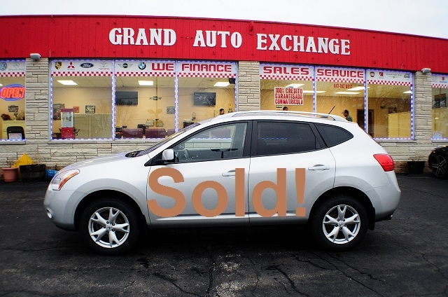 2008 Nissan Rogue SL Silver Sport Used SUV Sale Antioch Zion Waukegan