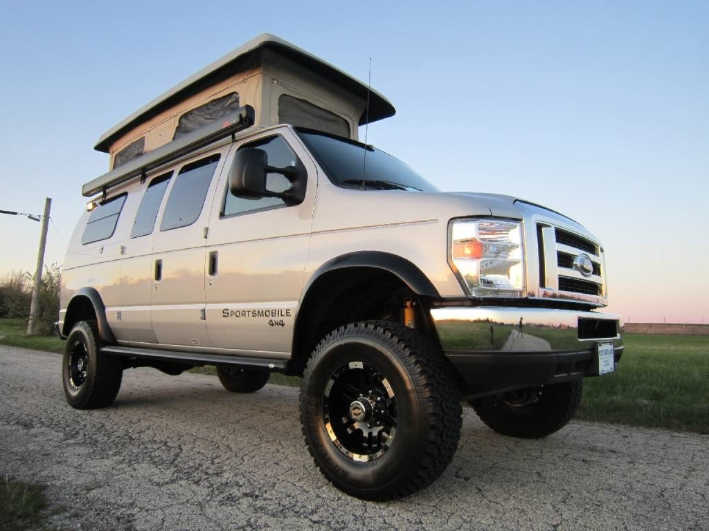 2009 Ford Sportsmobile RB30 Pewter 4x4 Used RV Sale Gurnee Kenosha Mchenry Chicago Illinois