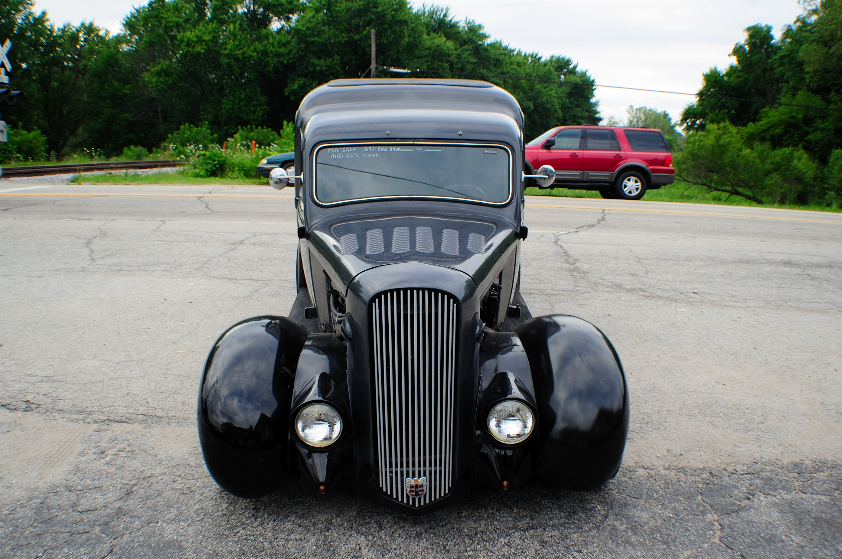 1937 Dodge Humpback Delivery Classic Hot Street Rod Car Sale Beach Park