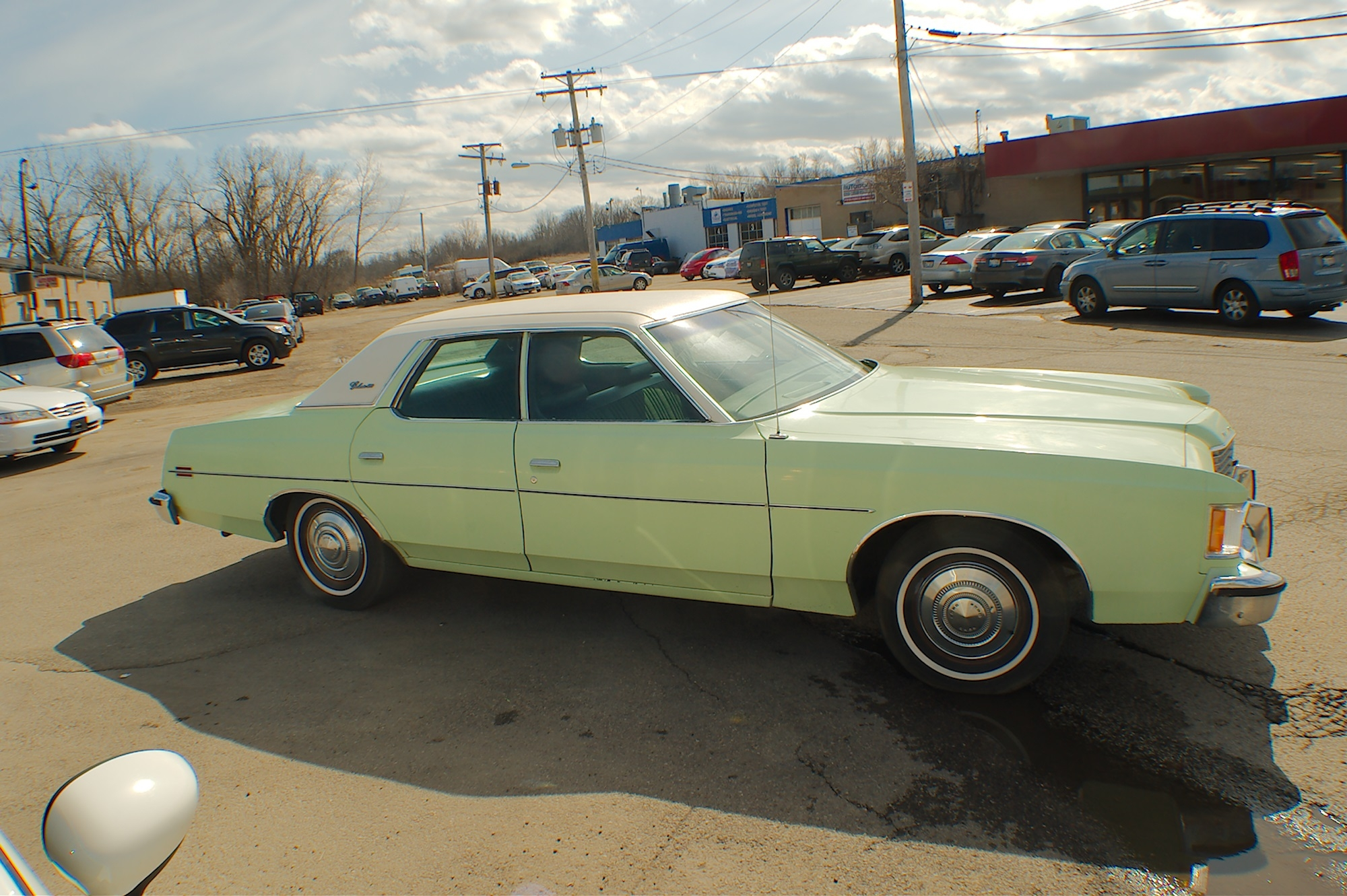 Used Rv Prices >> 1973 Ford Galaxie 500 Green Sedan Used Car Sale