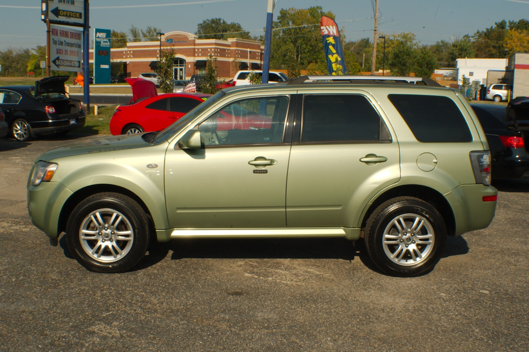 2009 Mercury Mariner Green SUV Used Car Sale Bannockburn Barrington Beach Park