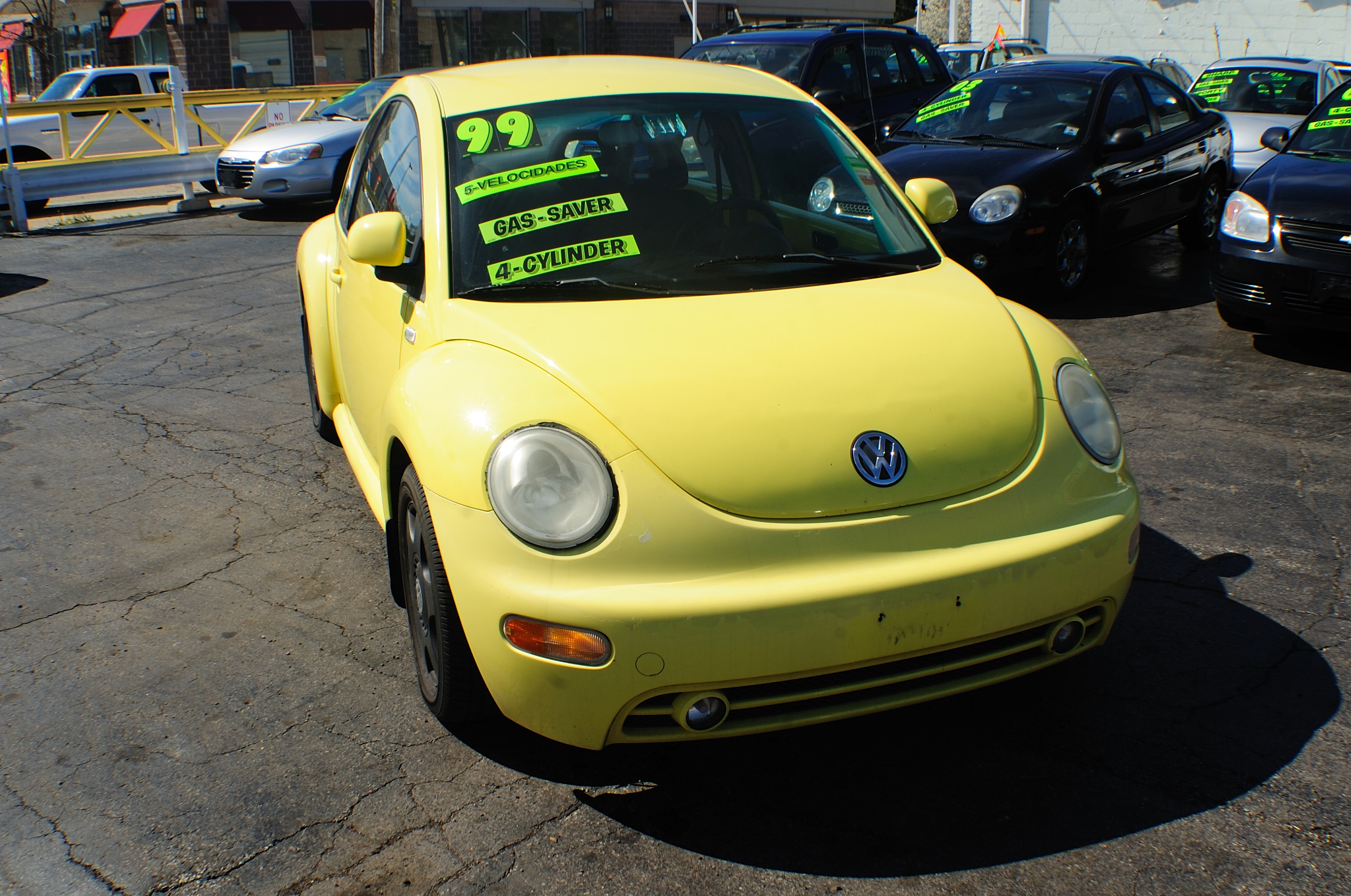 1999 Volkswagen Beetle Yellow Manual used car sale Bannockburn Barrington Beach Park