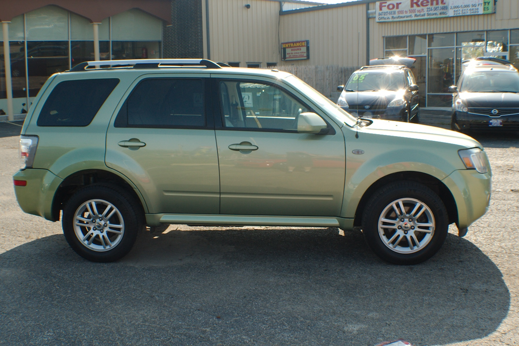 2009 Mercury Mariner Green SUV Used Car Sale Buffalo Grove Deerfield Fox Lake Antioch
