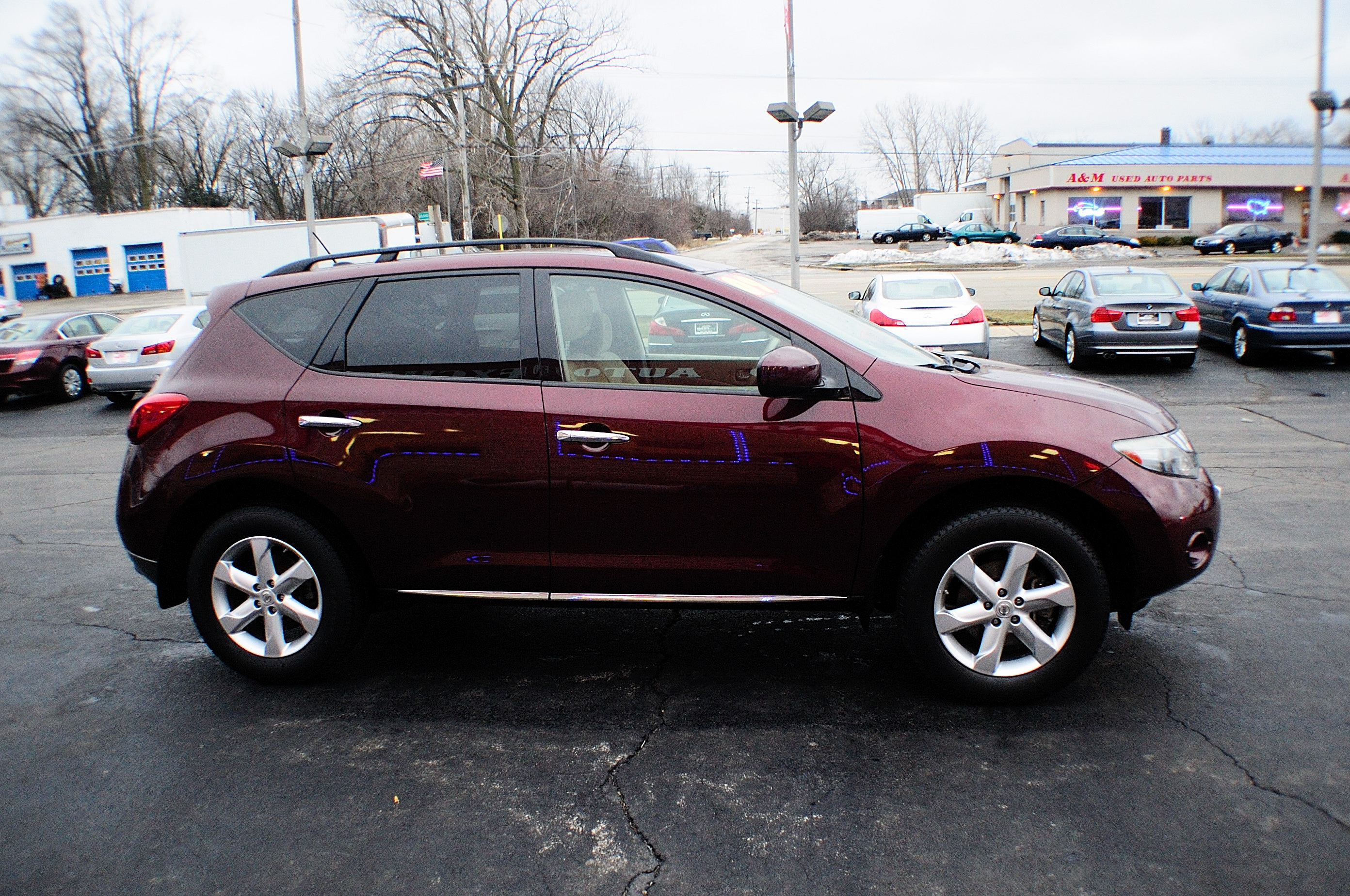2009 nissan murano sl burgundy sport used suv sale 2009 nissan murano sl burgundy sport used suv sale bannockburn barrington beach park vanachro Image collections