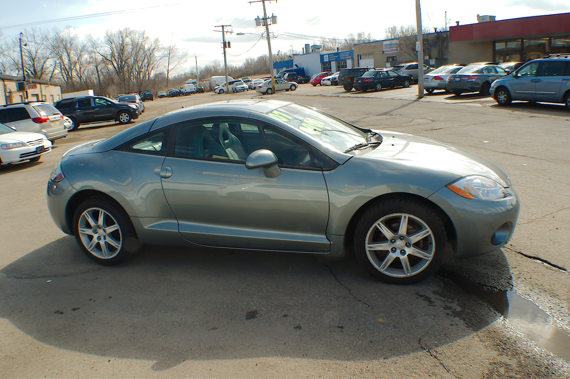 2007 Mitsubishi Eclipse SE Gray Special Edition Sale Bannockburn Barrington Beach Park
