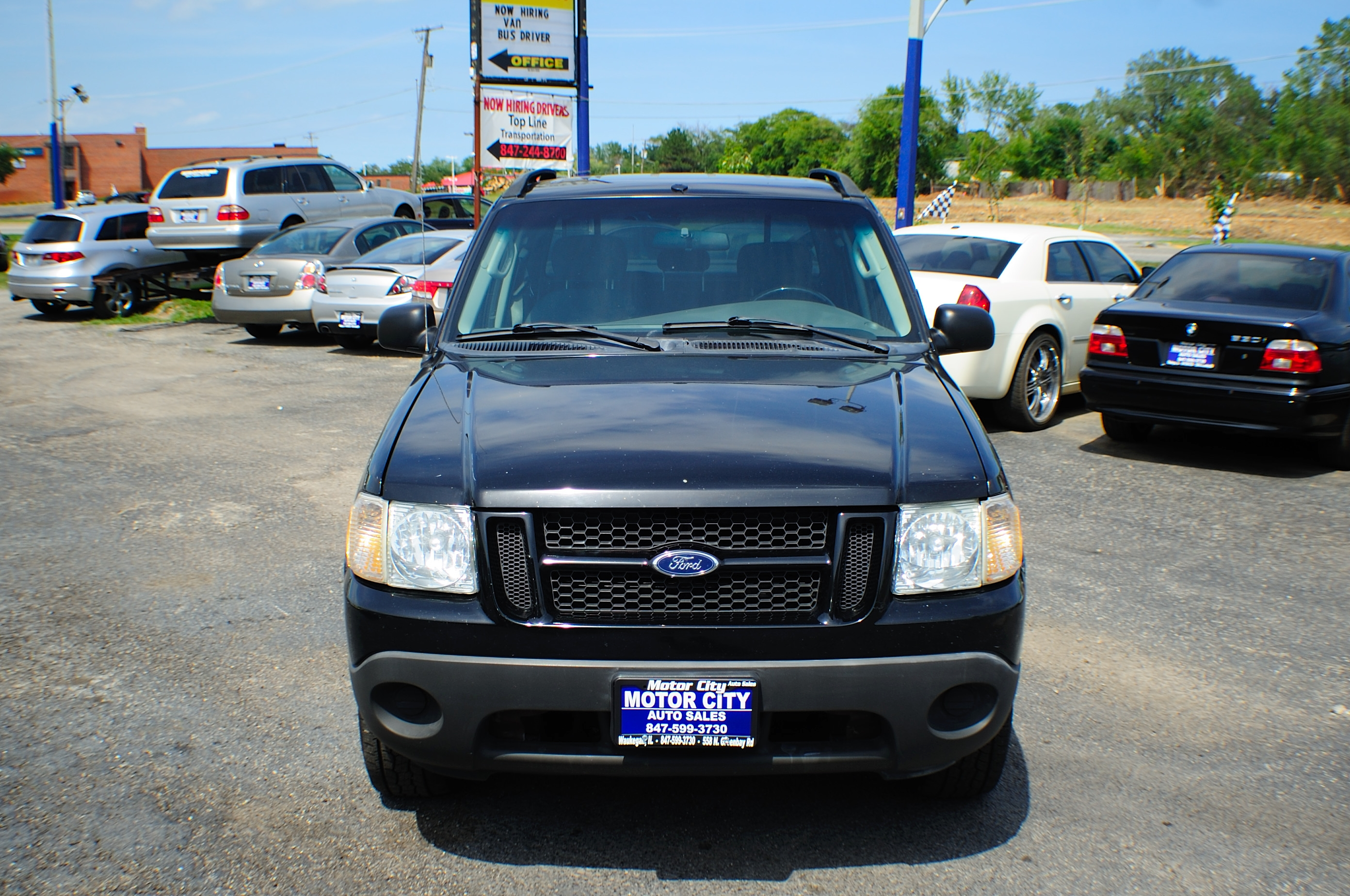 2005 Ford Explorer XLS Black 4X2 Sport Used Truck Sale Libertyville Beach Park