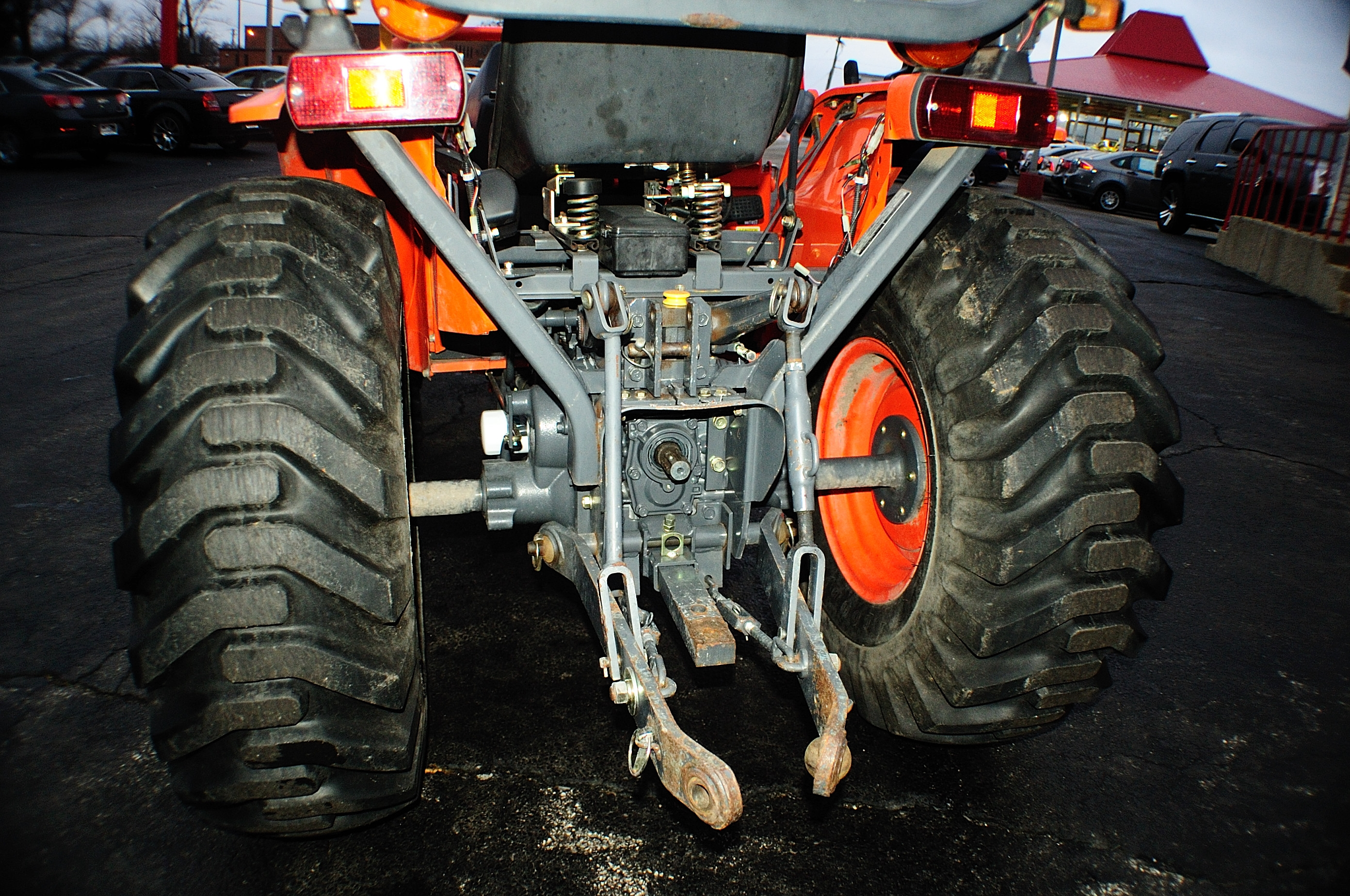 2005 Kubota B7800 Farm Agriculture Bucket Tractor Sale Buffalo Grove Deerfield Fox Lake