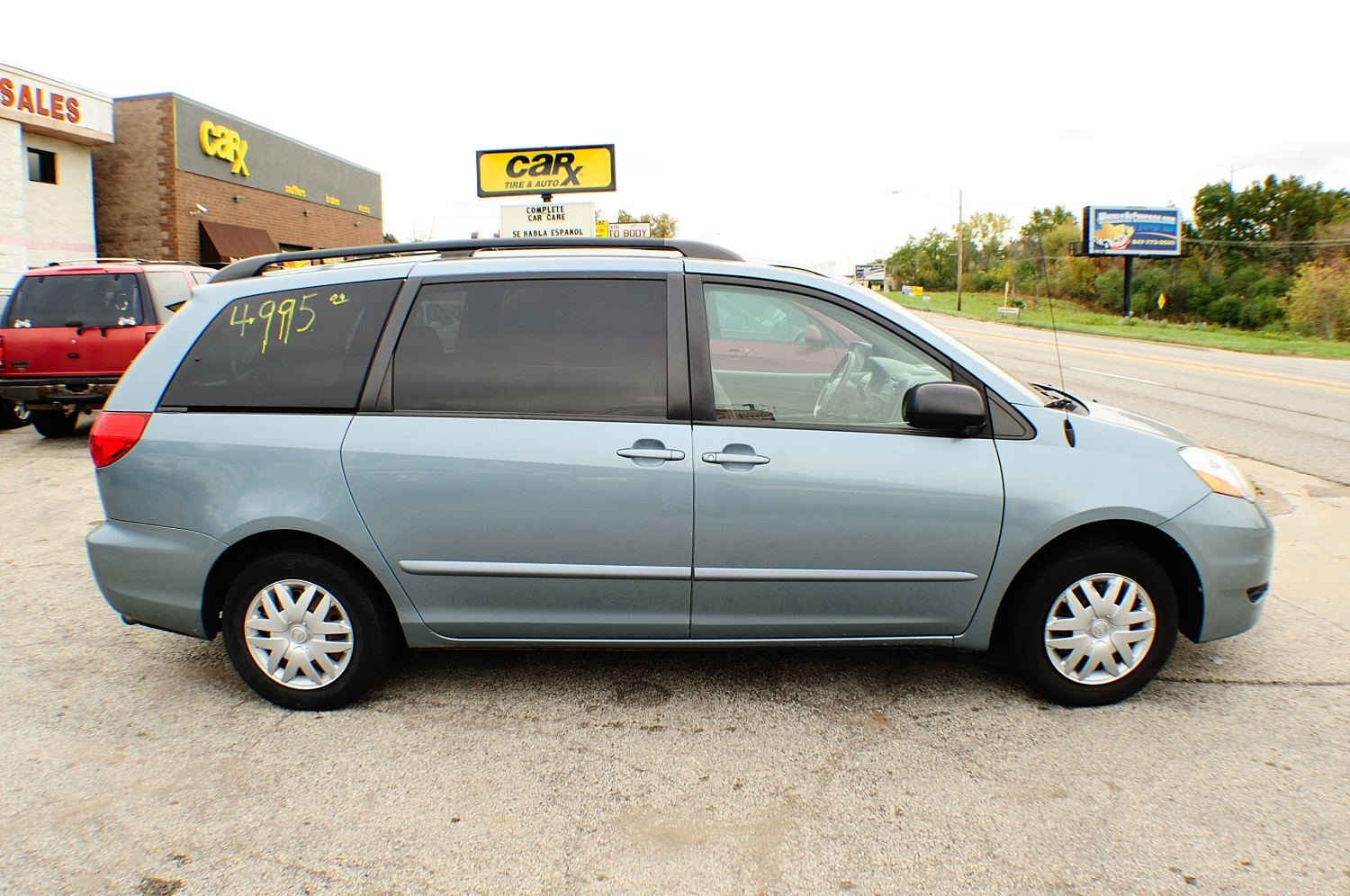 2006 toyota sienna le blue used mini van sale. Black Bedroom Furniture Sets. Home Design Ideas