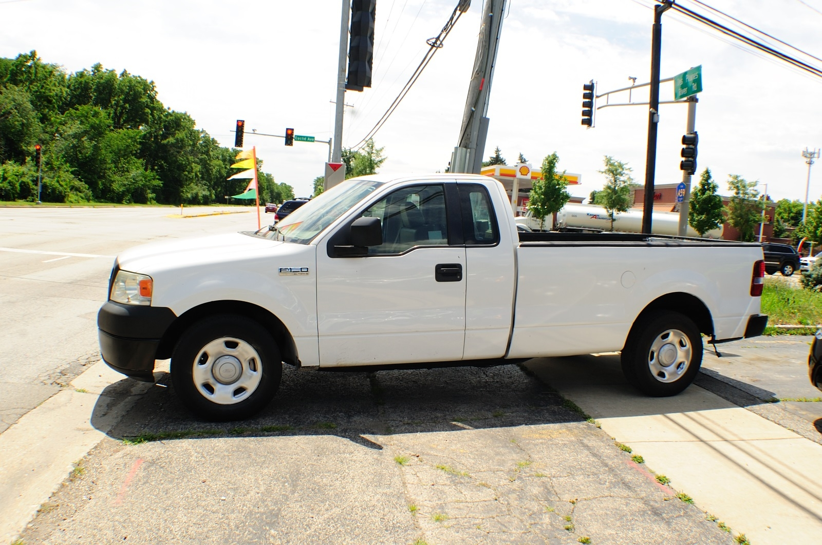 2006 ford f150 white ext cab 4x2 used pickup truck. Black Bedroom Furniture Sets. Home Design Ideas