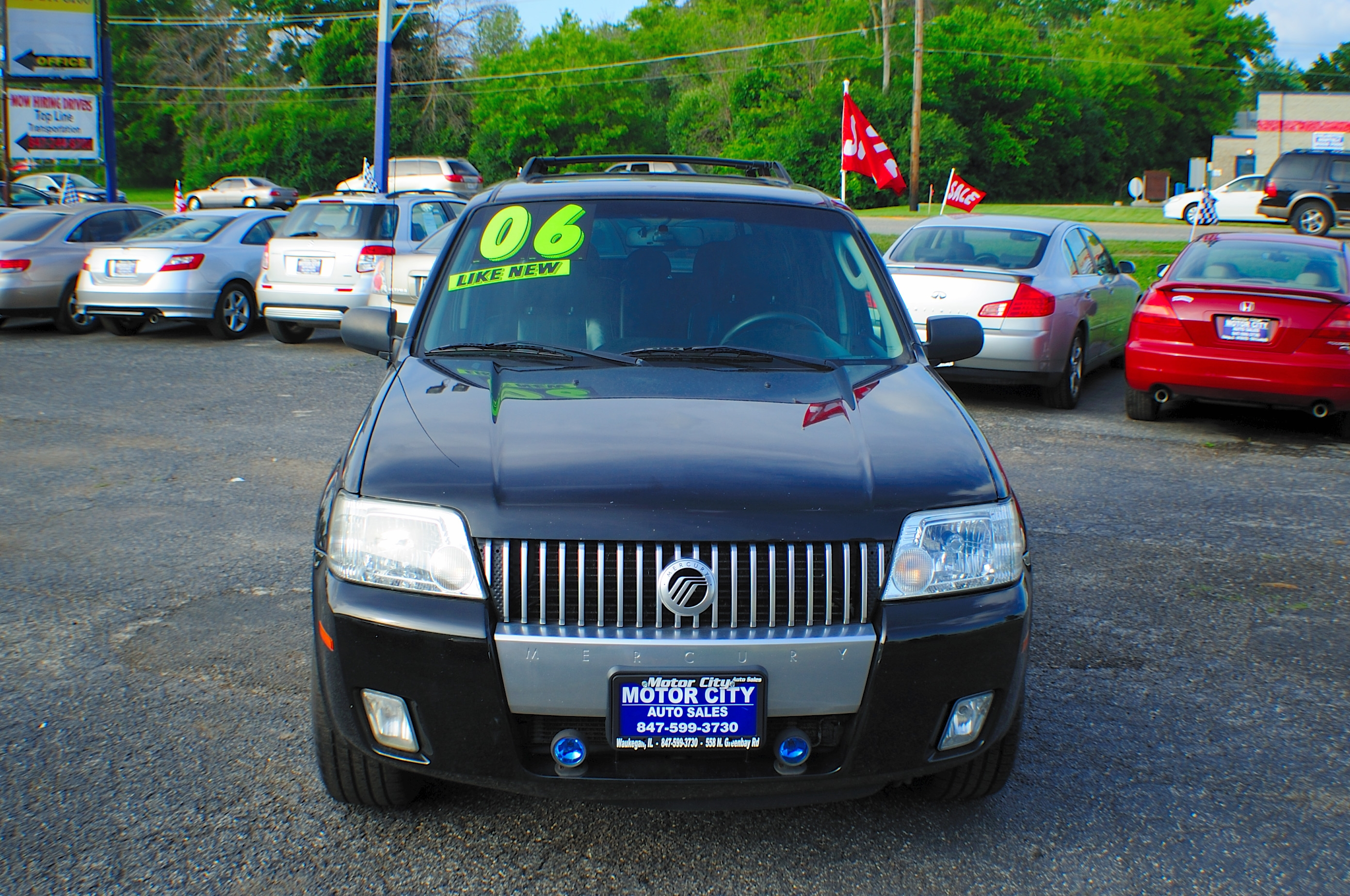 2006 Mercury Mariner Black AWD V6 Used SUV Wagon Sale Libertyville Beach Park