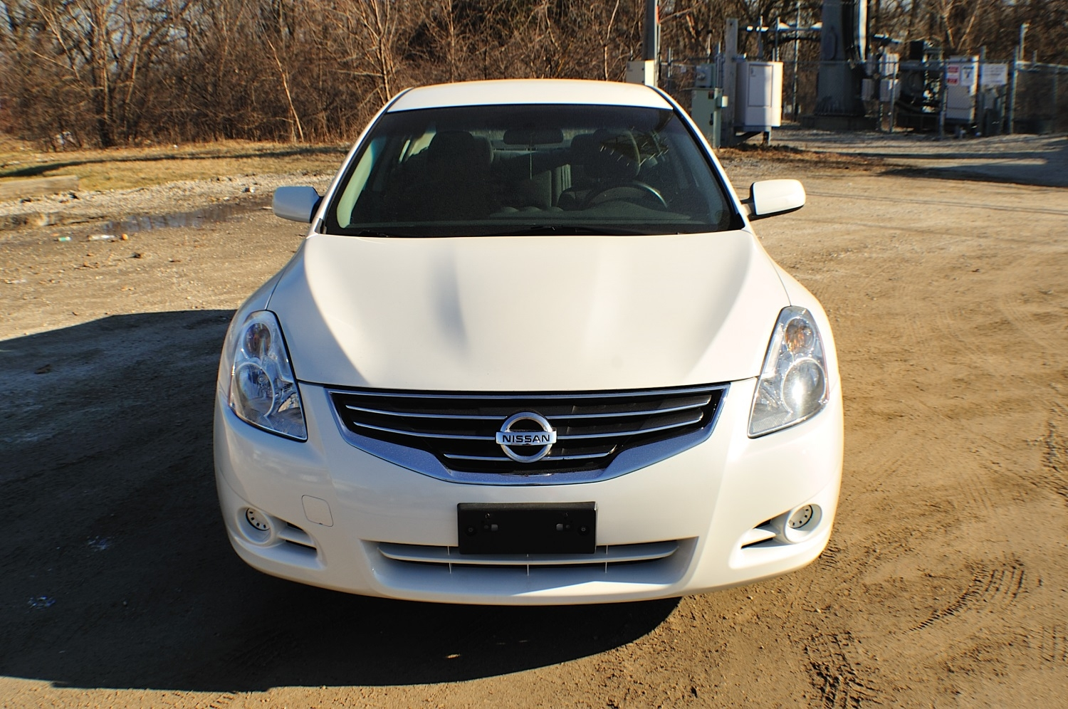2010 Nissan Altima White Used Car Sedan Sale Gurnee Kenosha Mchenry Chicago Illinois