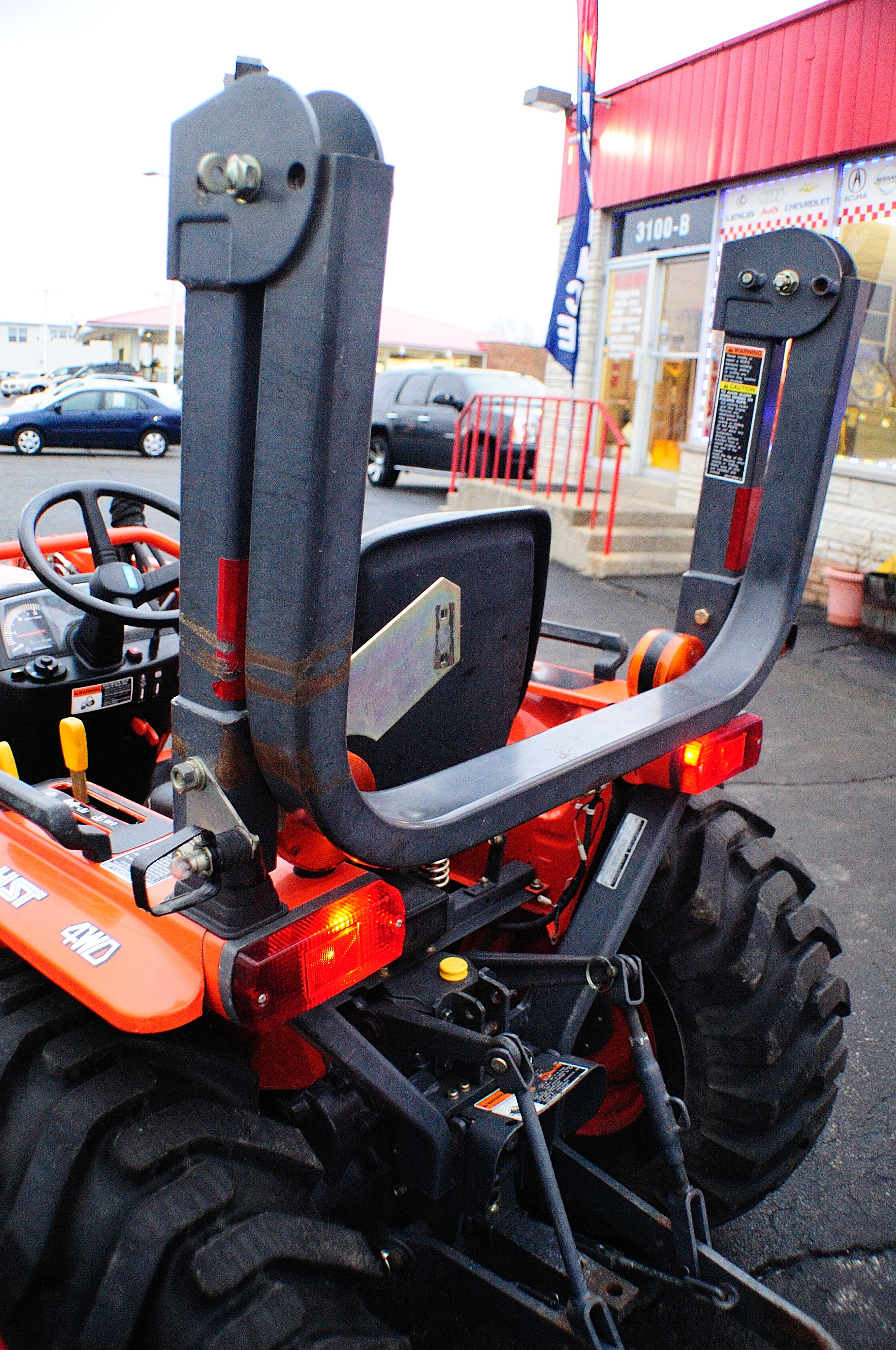 2005 Kubota B7800 Farm Agriculture Bucket Tractor Sale Barrington North Chicago